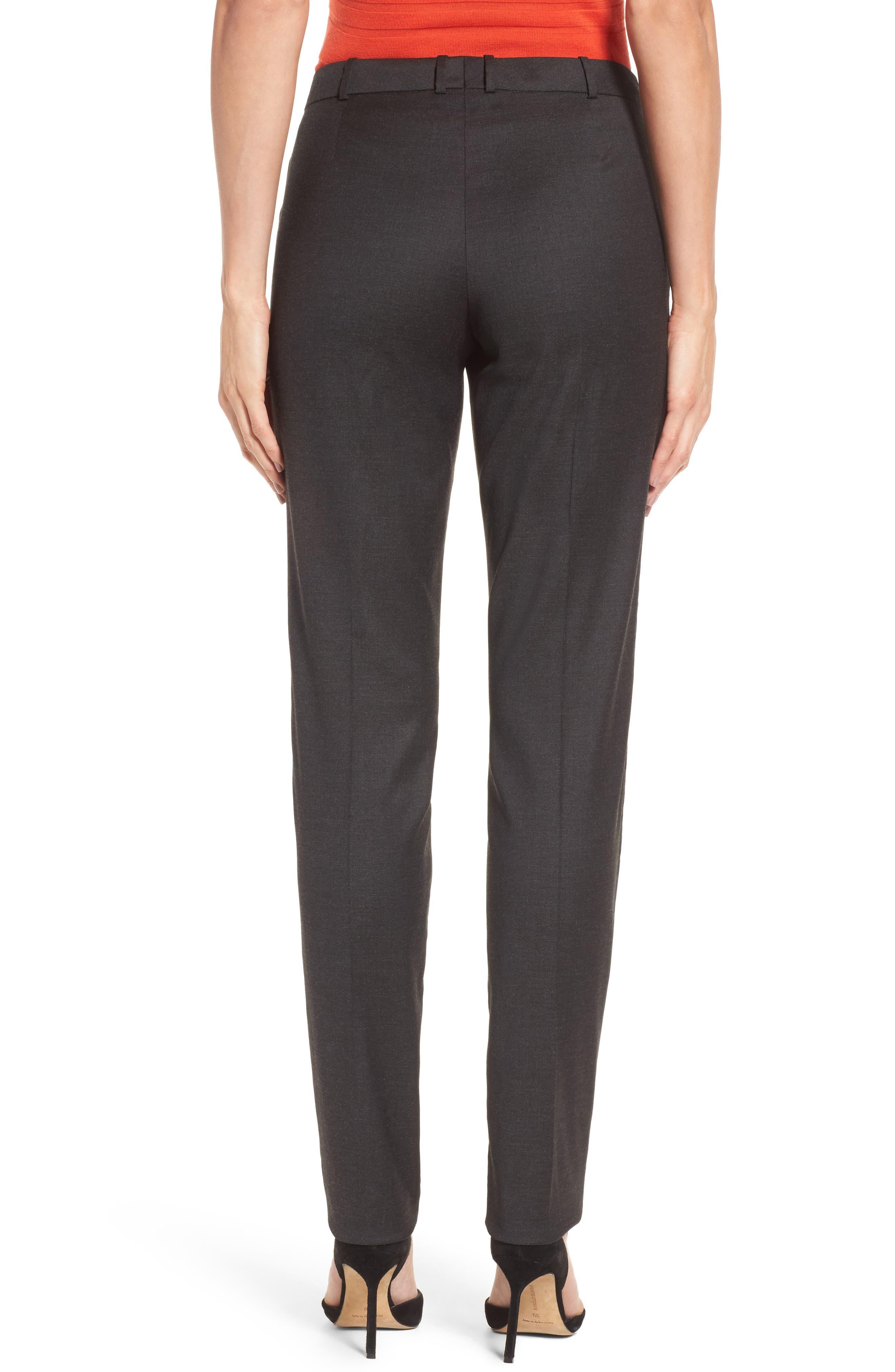 Tilunana Stretch Wool Blend Suit Trousers,                             Alternate thumbnail 2, color,                             094
