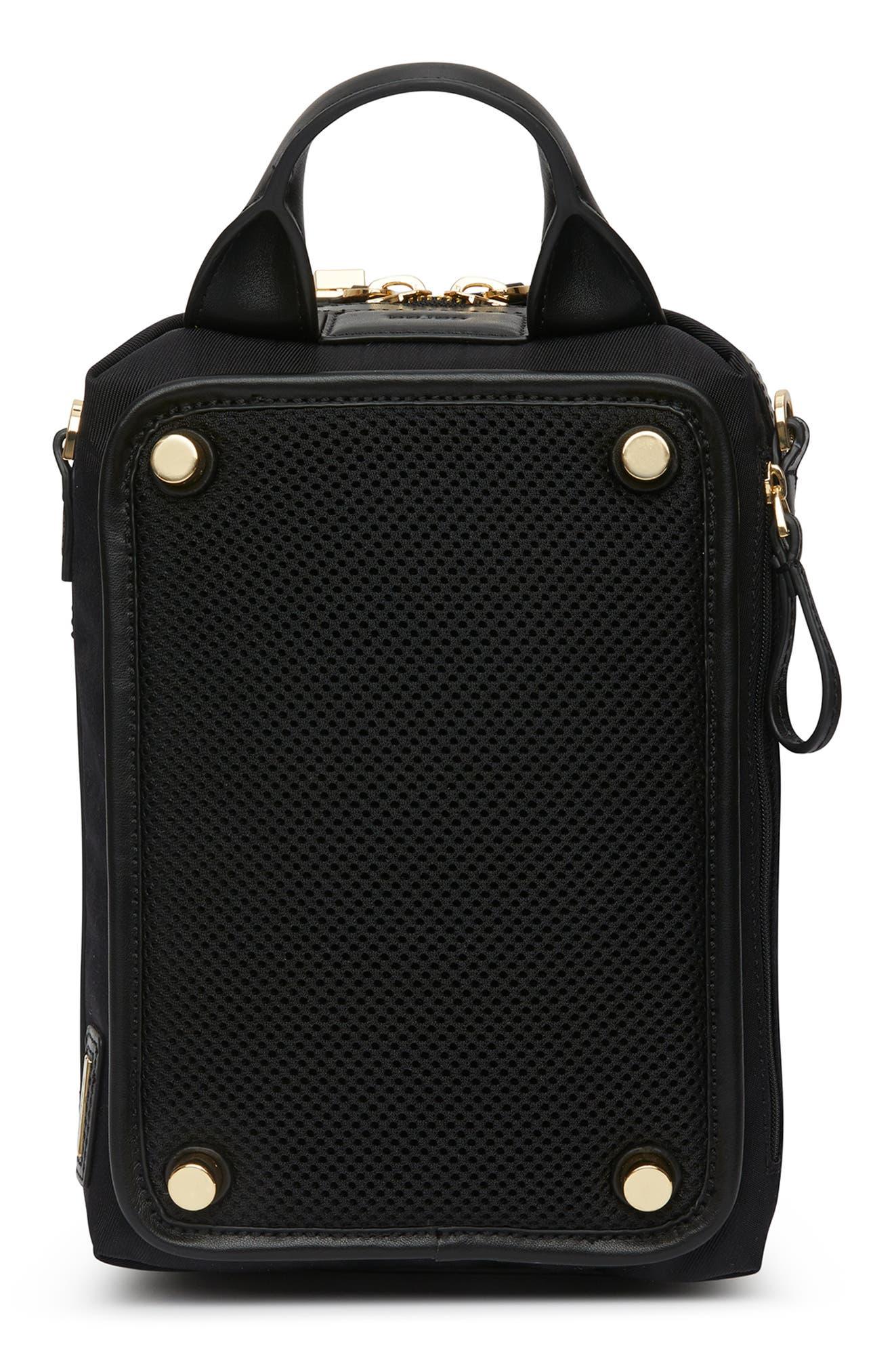 Studio 2 Mini Duffel Bag,                             Alternate thumbnail 2, color,                             BLACK GOLD