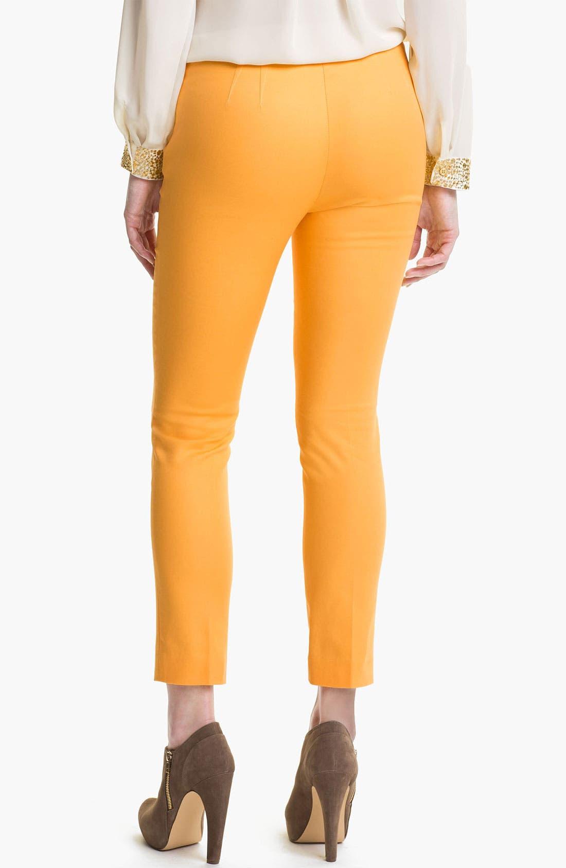 Side Zip Double Weave Pants,                             Alternate thumbnail 29, color,