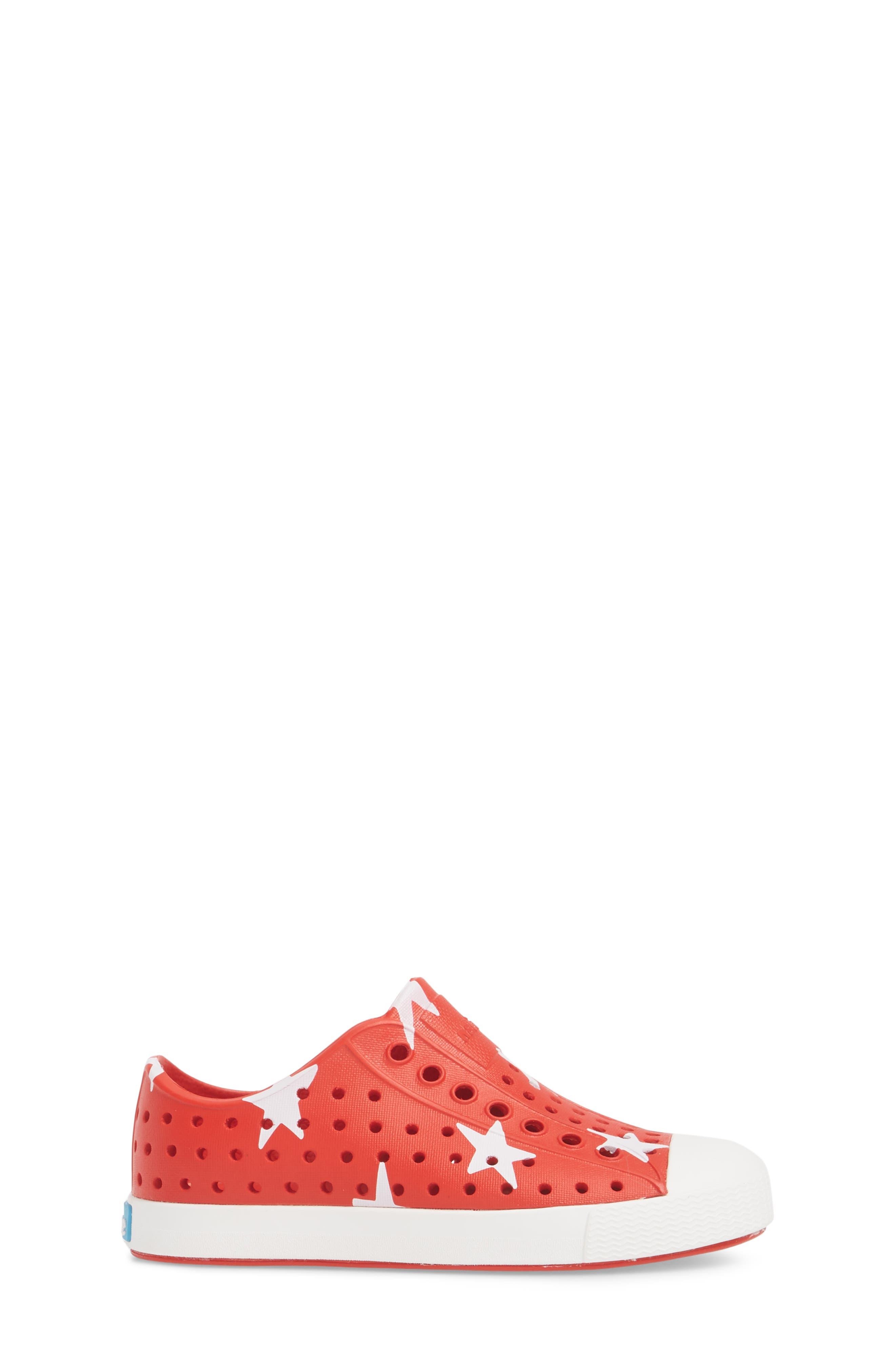 Jefferson Quartz Slip-On Sneaker,                             Alternate thumbnail 3, color,                             TORCH RED/ BONE WHITE/ STAR
