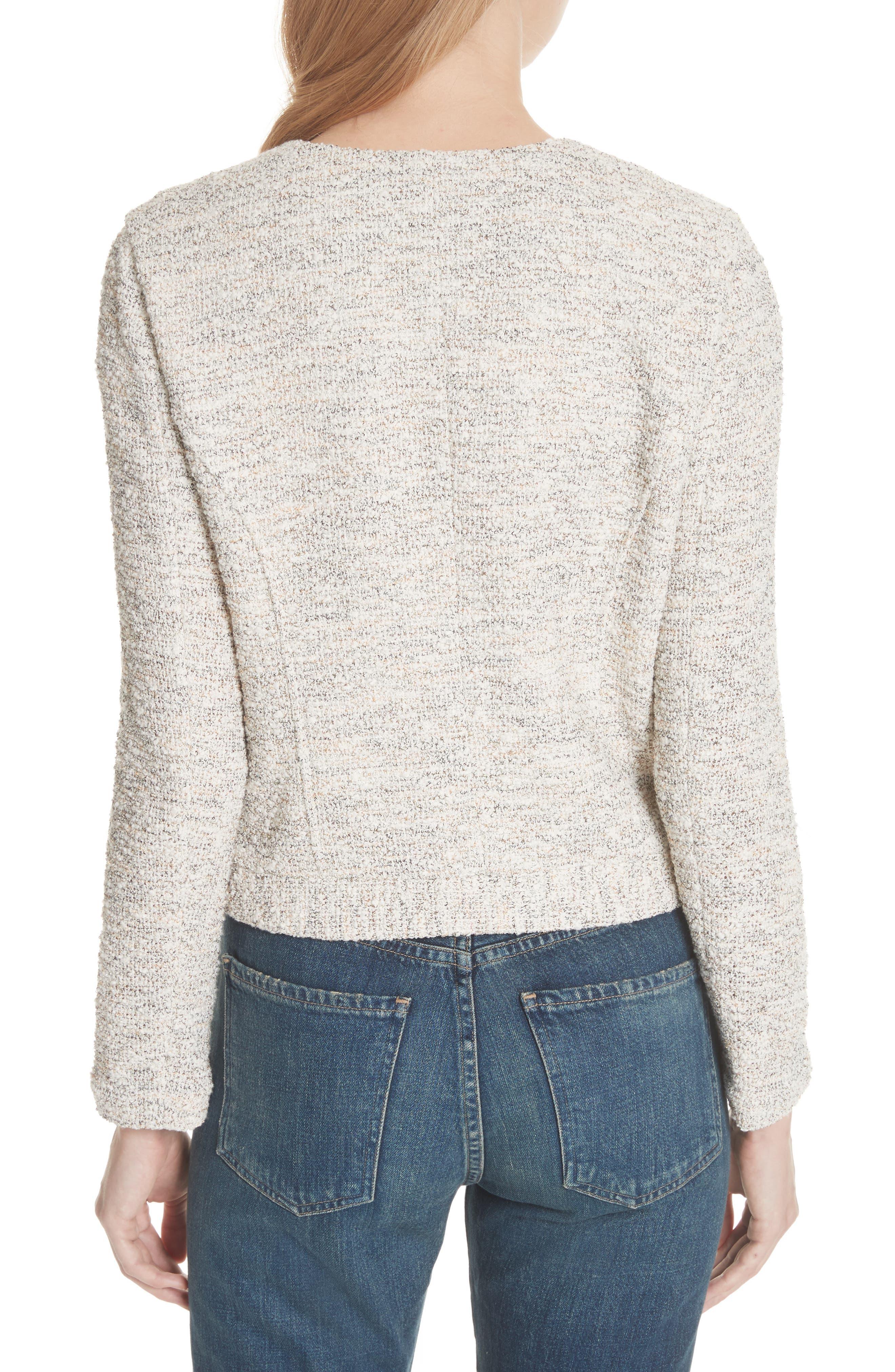 'Balina' Tweed Jacket,                             Alternate thumbnail 2, color,                             114