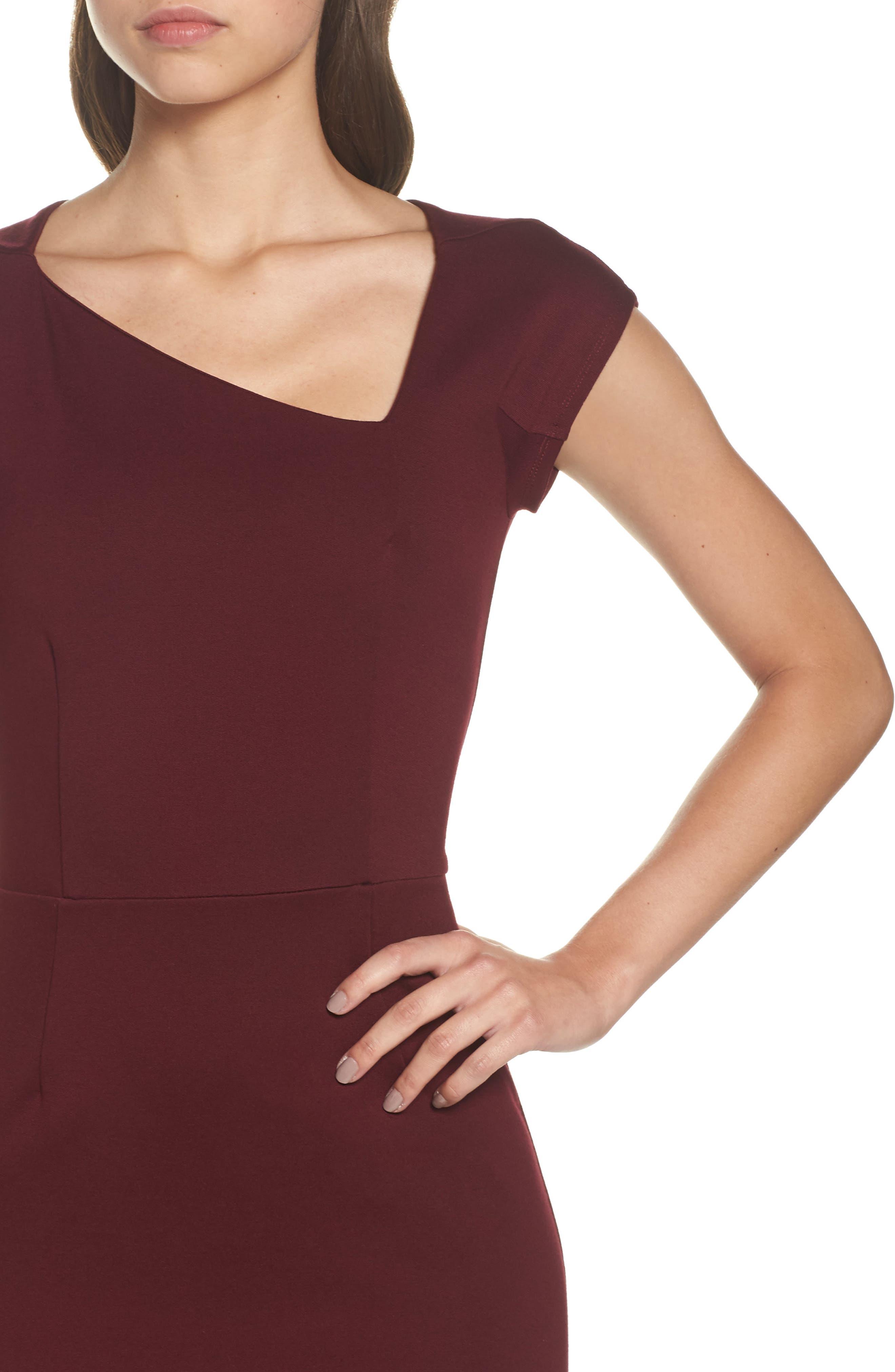 FRENCH CONNECTION,                             Lula Sheath Dress,                             Alternate thumbnail 4, color,                             935