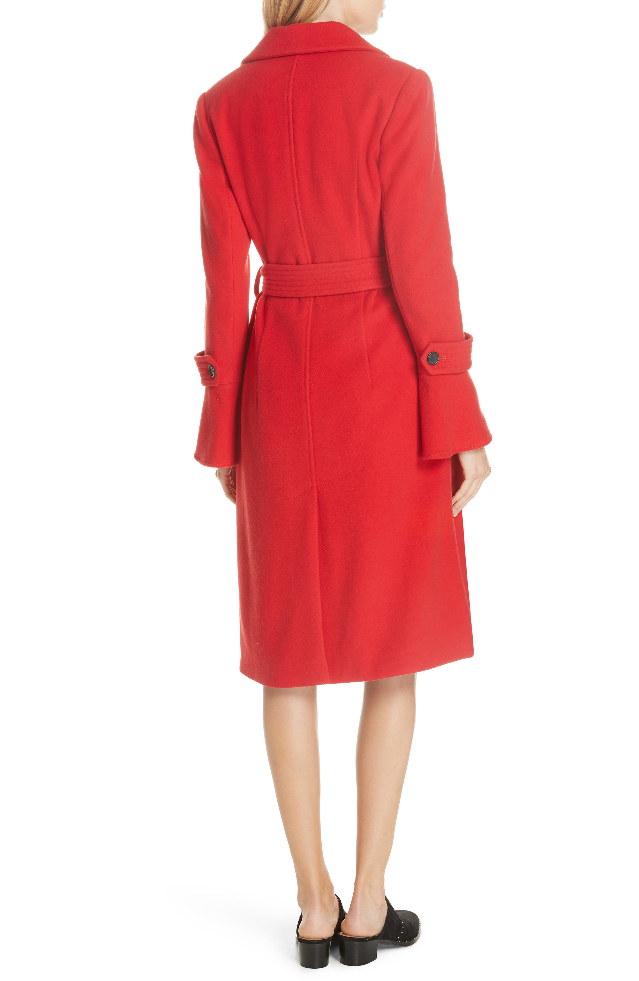Hersilia Wool Blend Coat,                             Alternate thumbnail 2, color,                             600