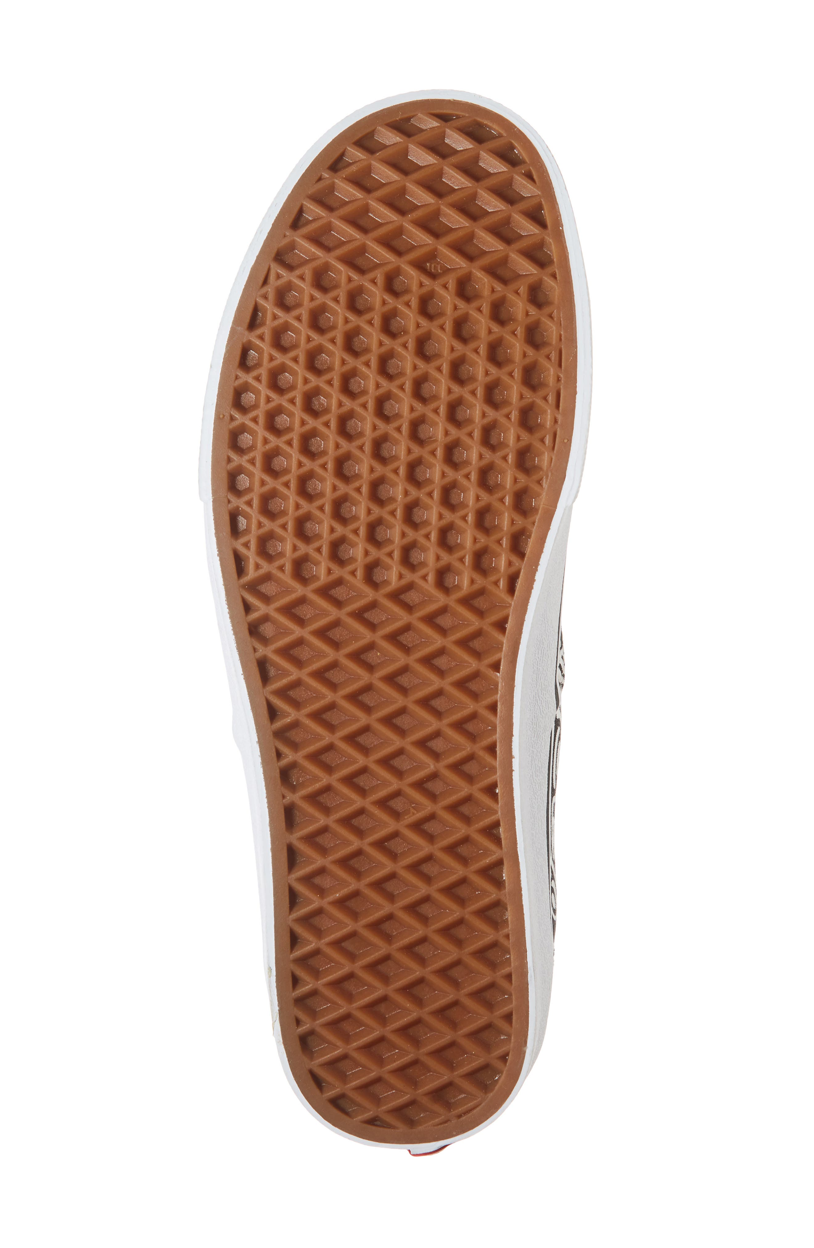 Authentic Sneaker,                             Alternate thumbnail 6, color,                             BLACK/ WHITE