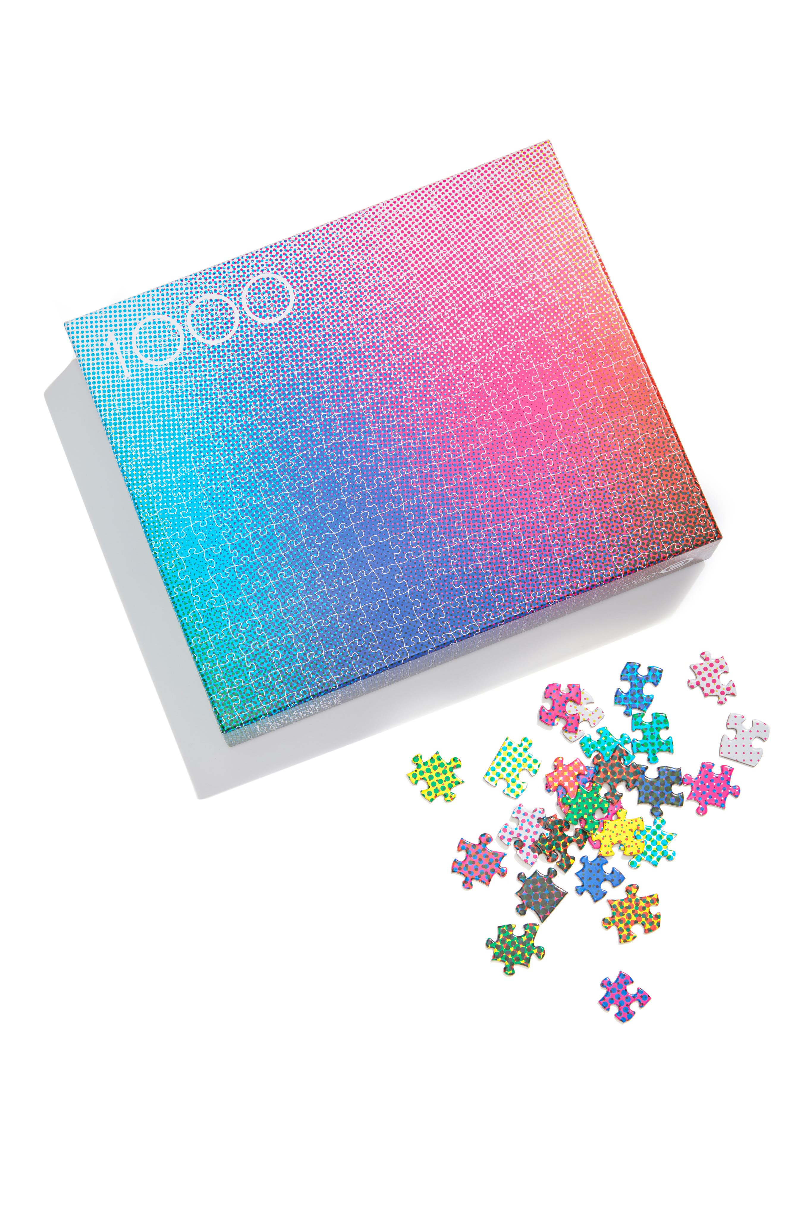 1000 Halftone Colors Puzzle,                             Main thumbnail 1, color,                             MULTI COLOR