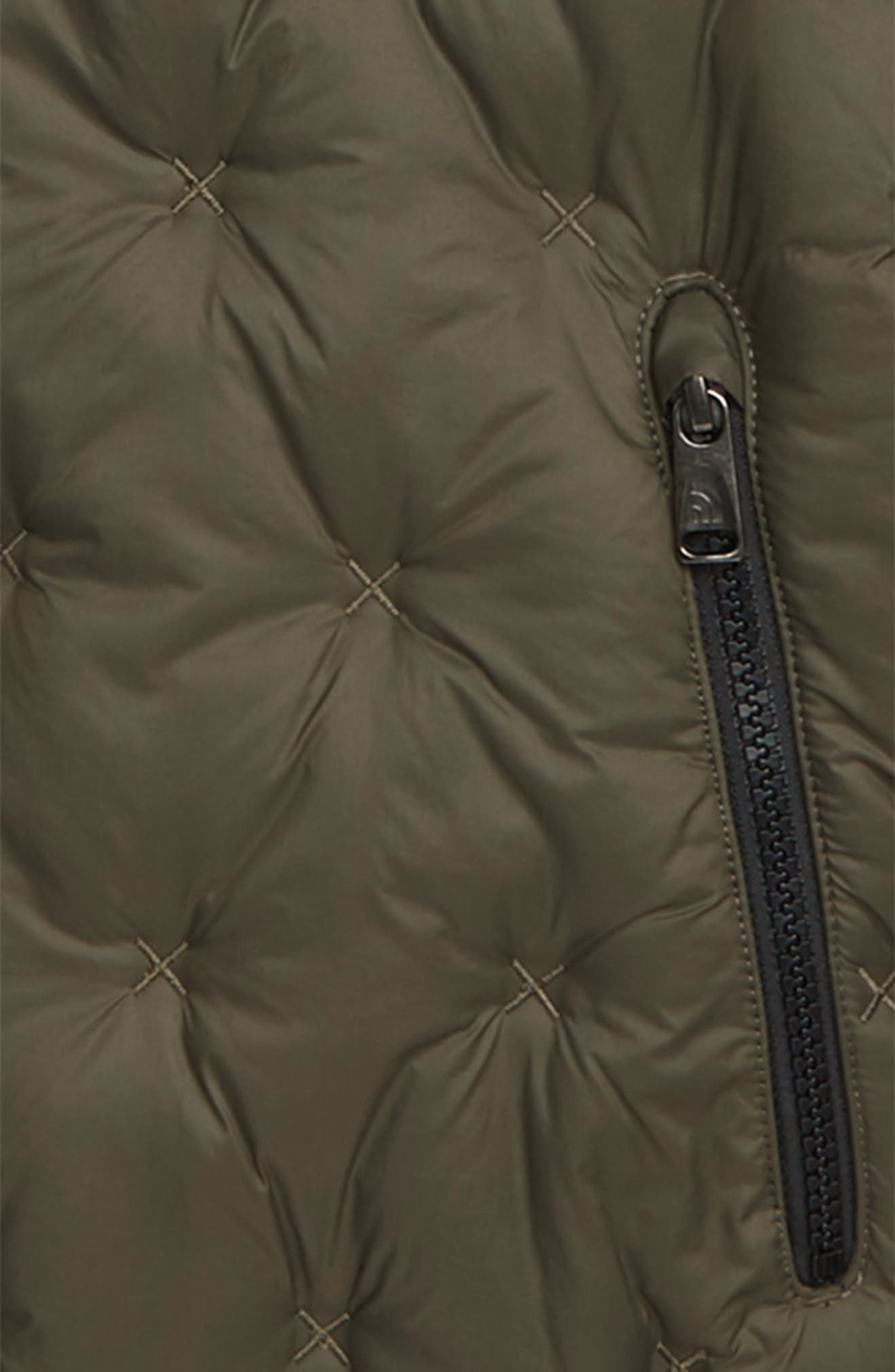 Moondoggy 2.0 Water Repellent Down Jacket,                             Alternate thumbnail 2, color,                             NEW TAUPE GREEN
