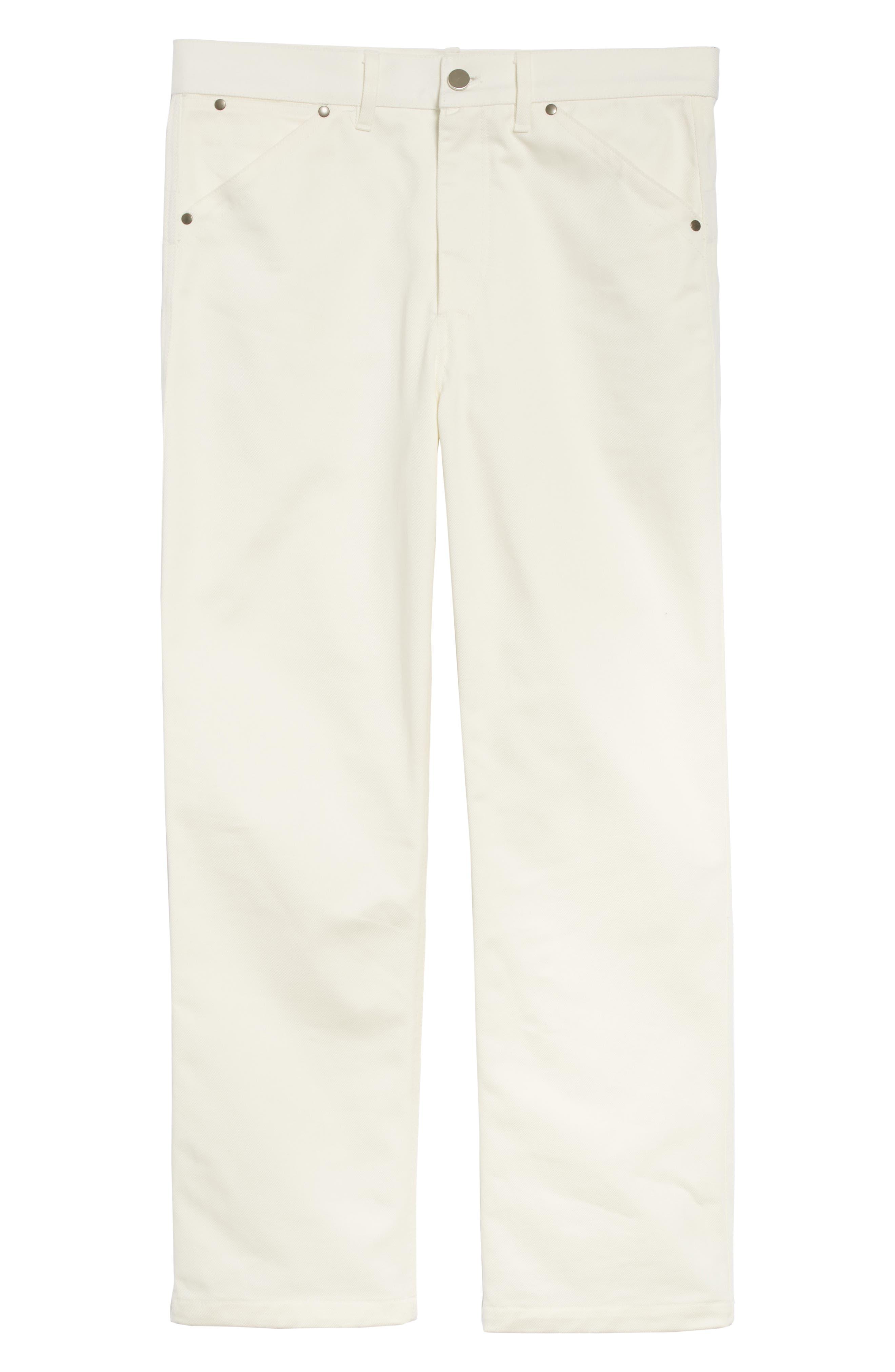 Twill Denim Jeans,                             Alternate thumbnail 6, color,                             100