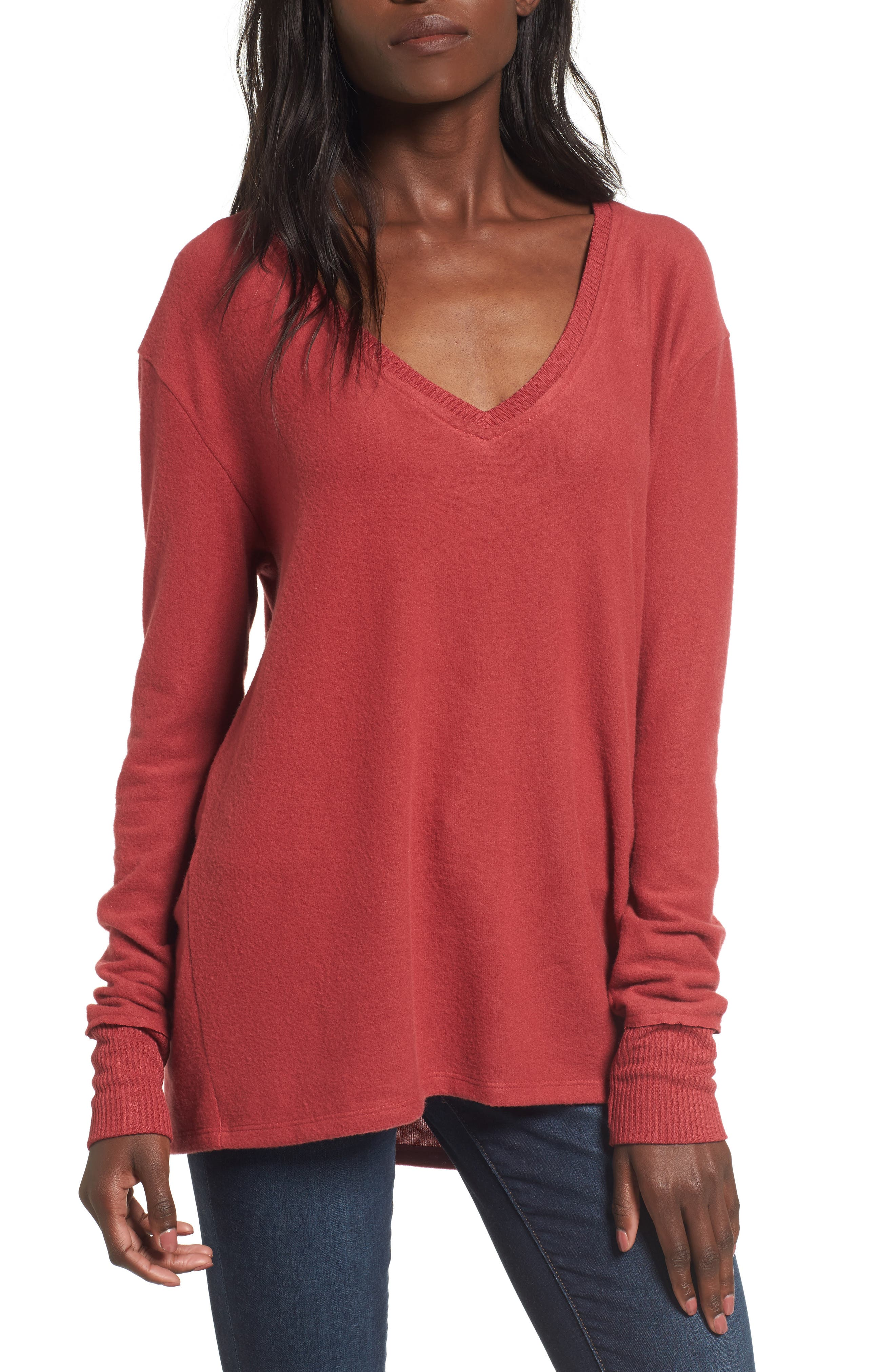 V-Neck Pullover,                             Main thumbnail 8, color,