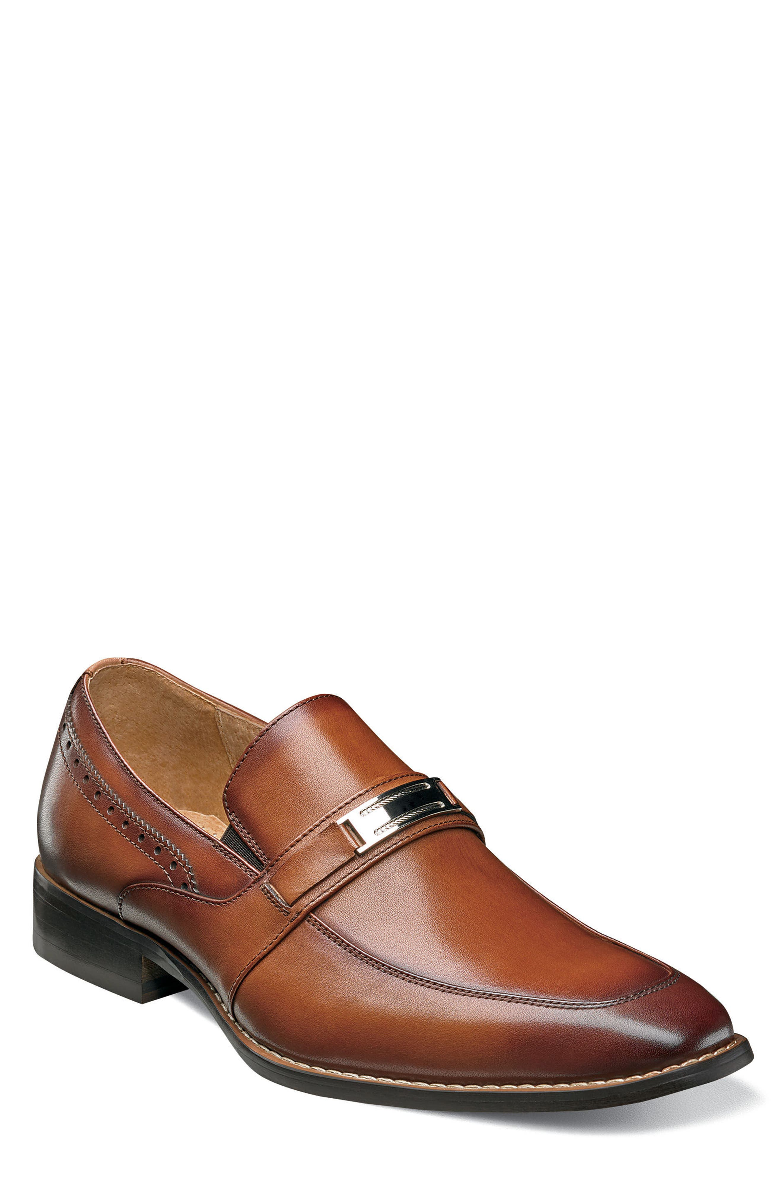 STACY ADAMS Shaw Bit Loafer, Main, color, 201