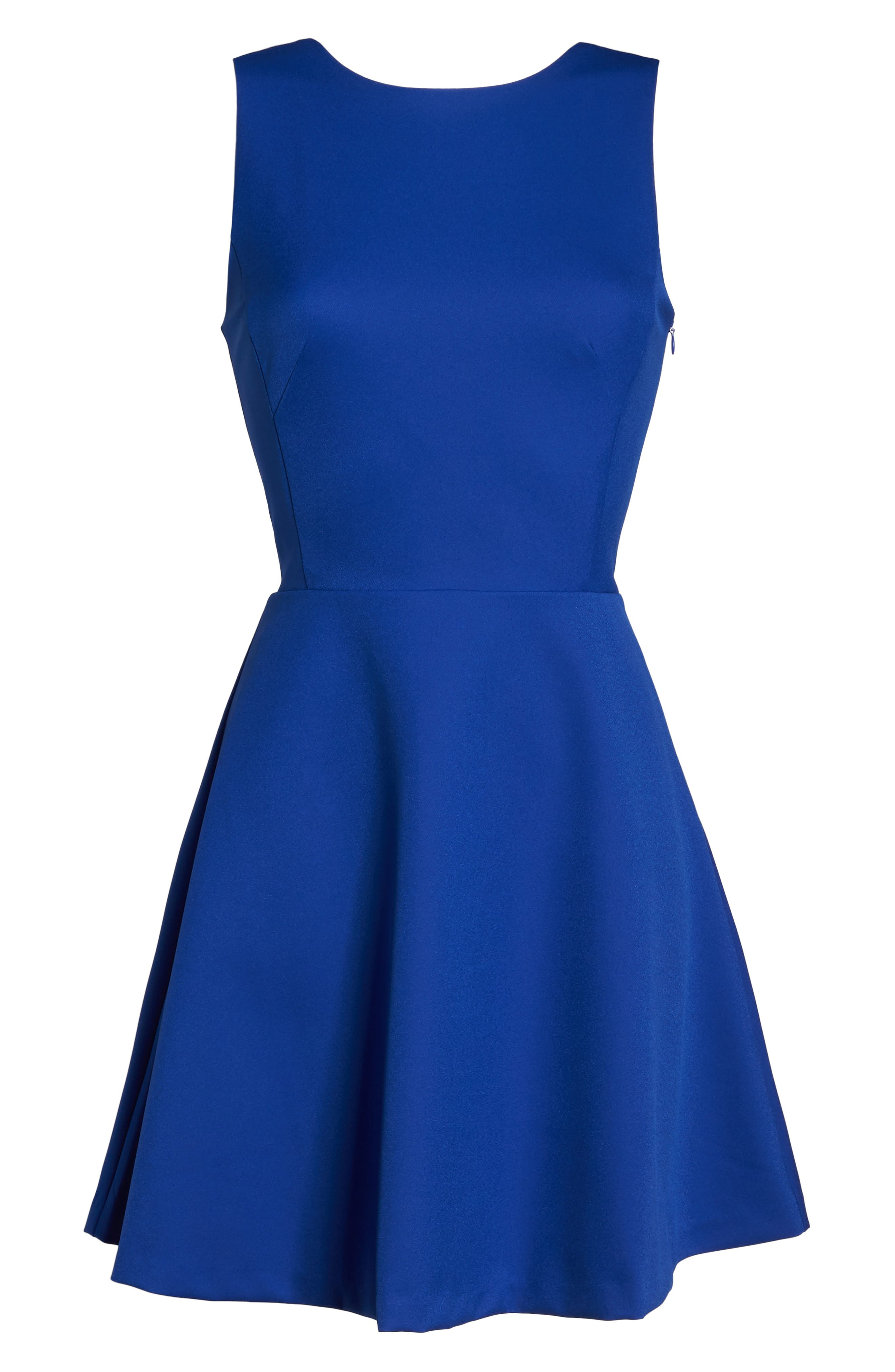 Barbara Fit & Flare Dress,                             Alternate thumbnail 6, color,