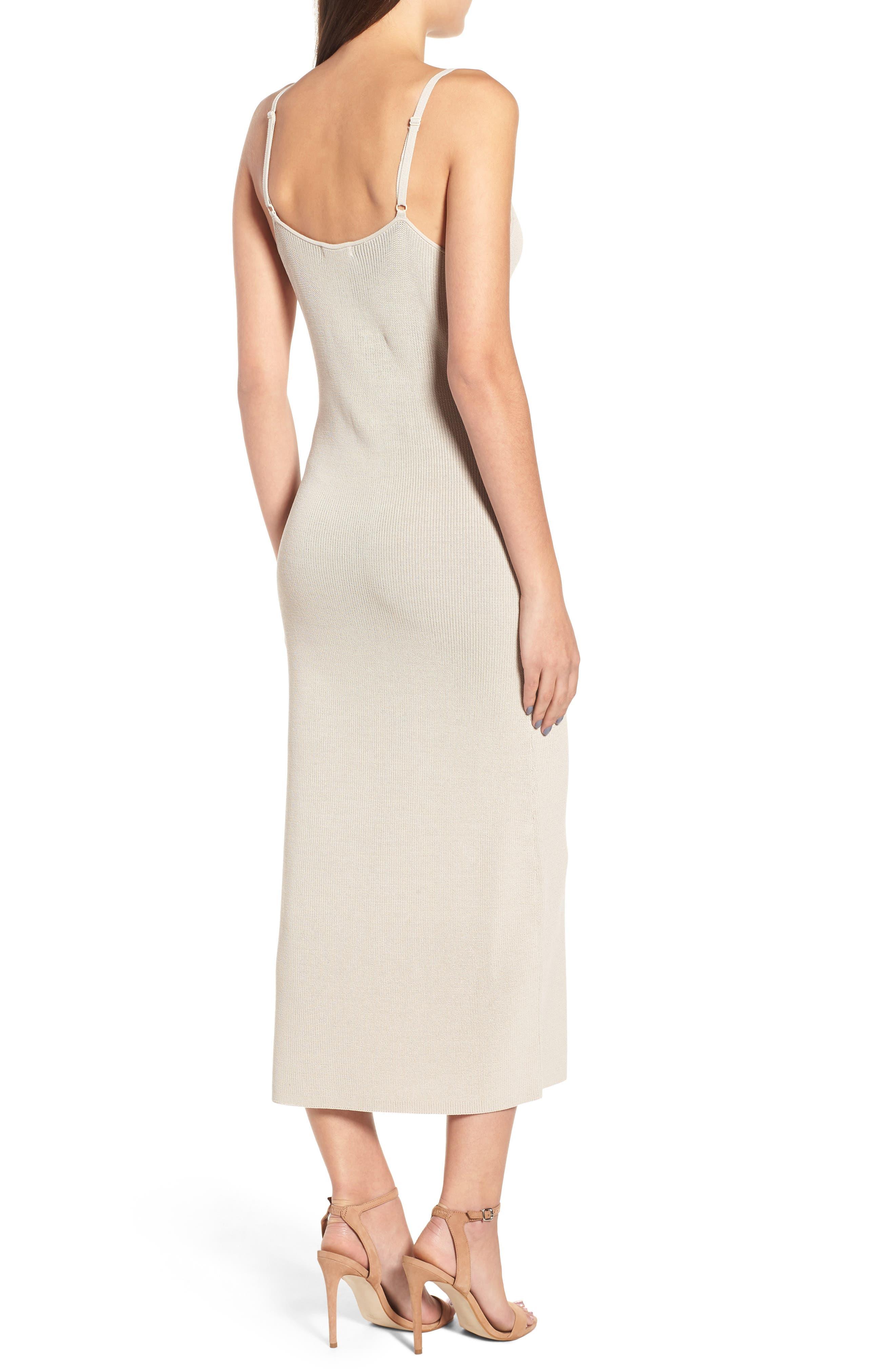 Sweater Strap Dress,                             Alternate thumbnail 2, color,                             050