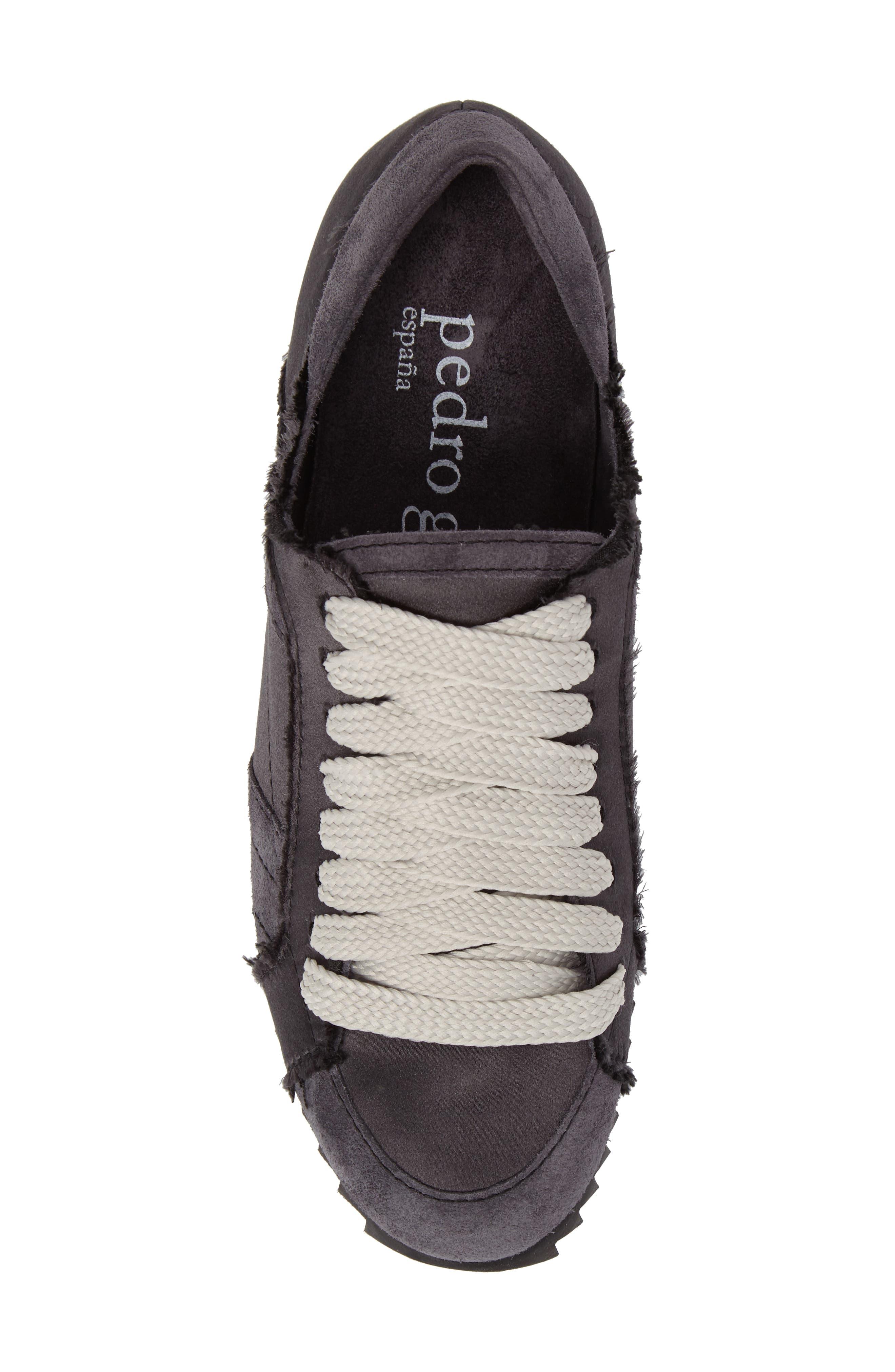 Cristina Trainer Sneaker,                             Alternate thumbnail 5, color,                             001