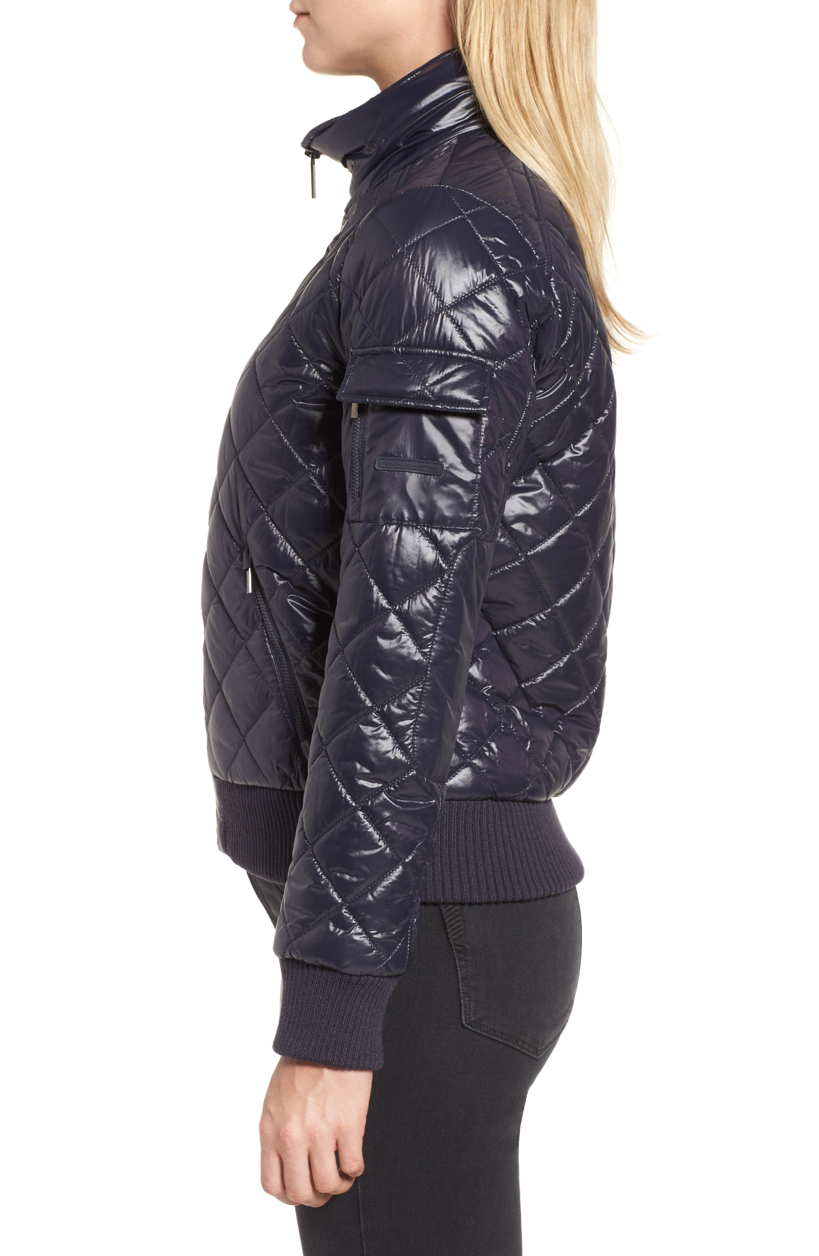 Quilted Bomber Jacket,                             Alternate thumbnail 12, color,