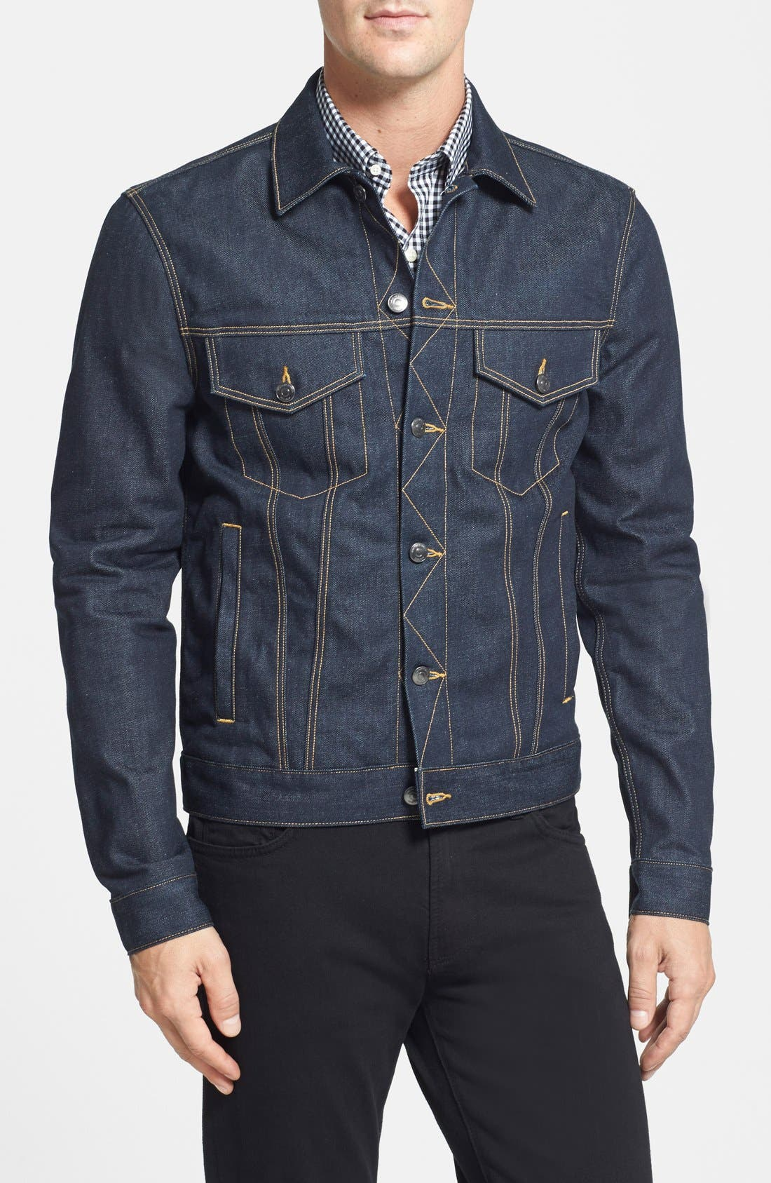 Denim Jacket,                             Main thumbnail 1, color,                             400
