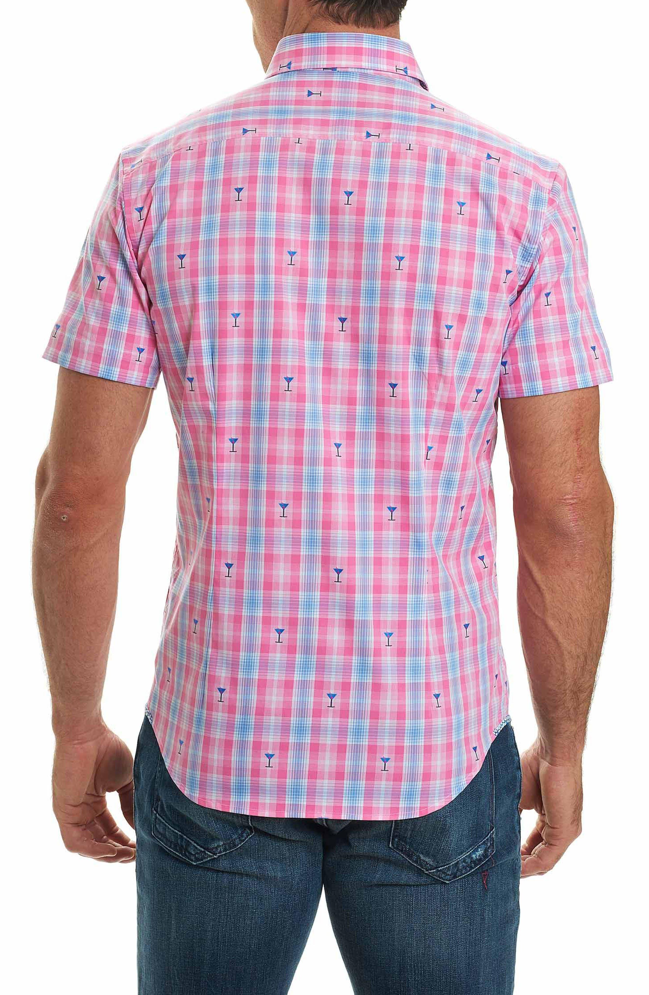 Chancellor Martini Plaid Sport Shirt,                             Alternate thumbnail 2, color,                             650