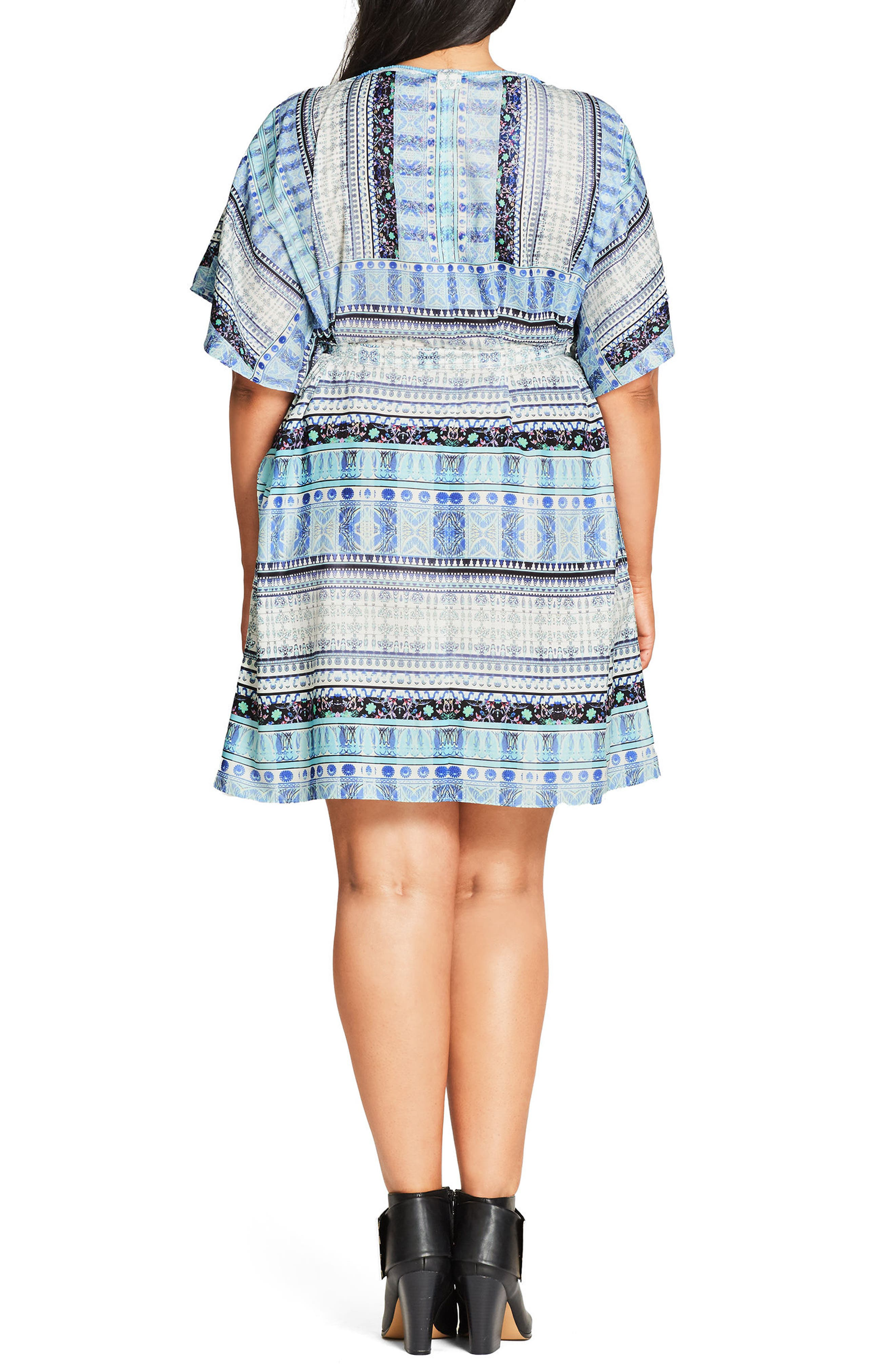 'Moroccan Affair' Embellished Print Tunic,                             Alternate thumbnail 2, color,                             401