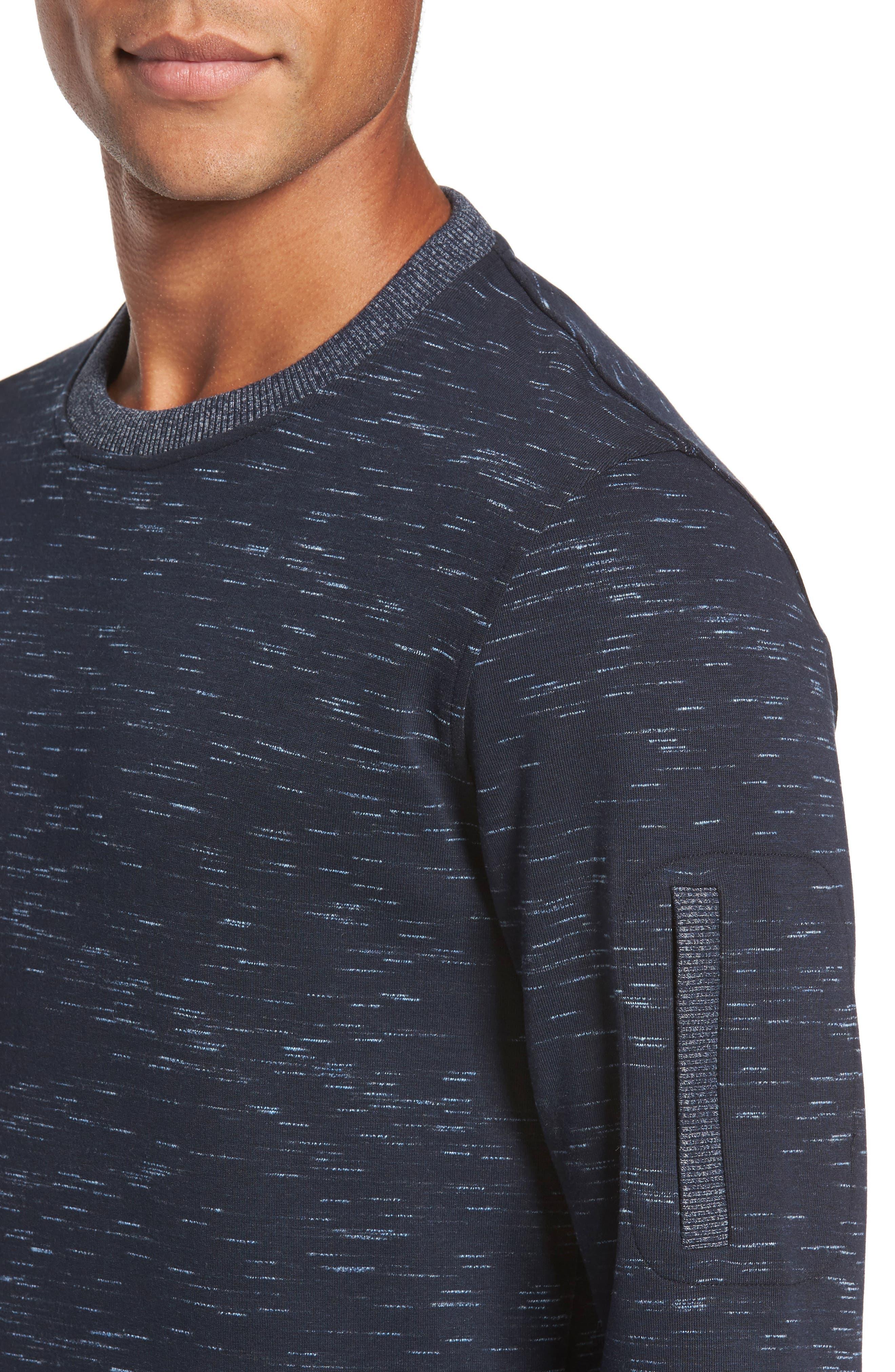 Bepay Jersey Sweatshirt,                             Alternate thumbnail 4, color,                             410
