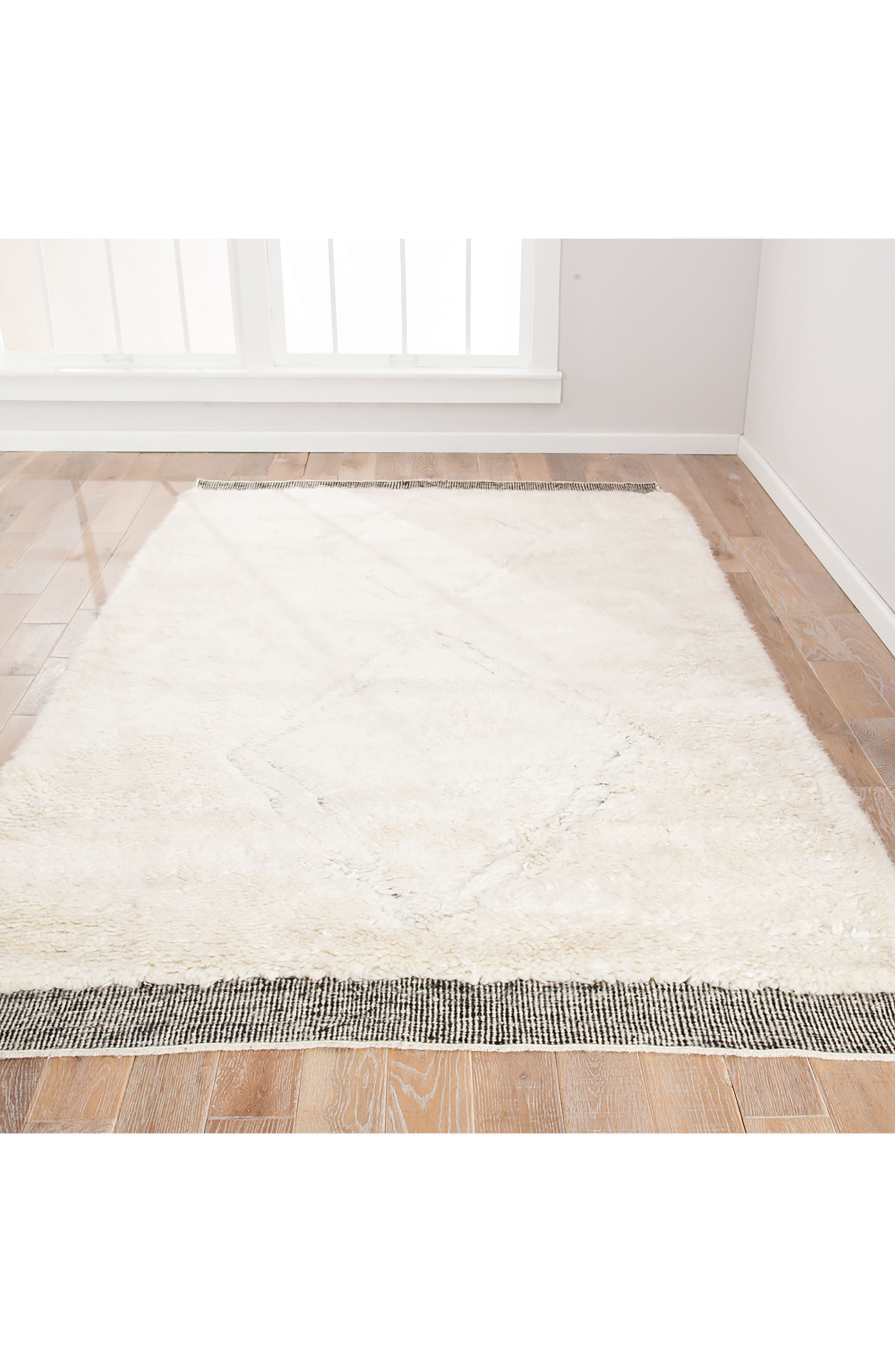 Ephesus Rug,                             Alternate thumbnail 6, color,                             ANGORA