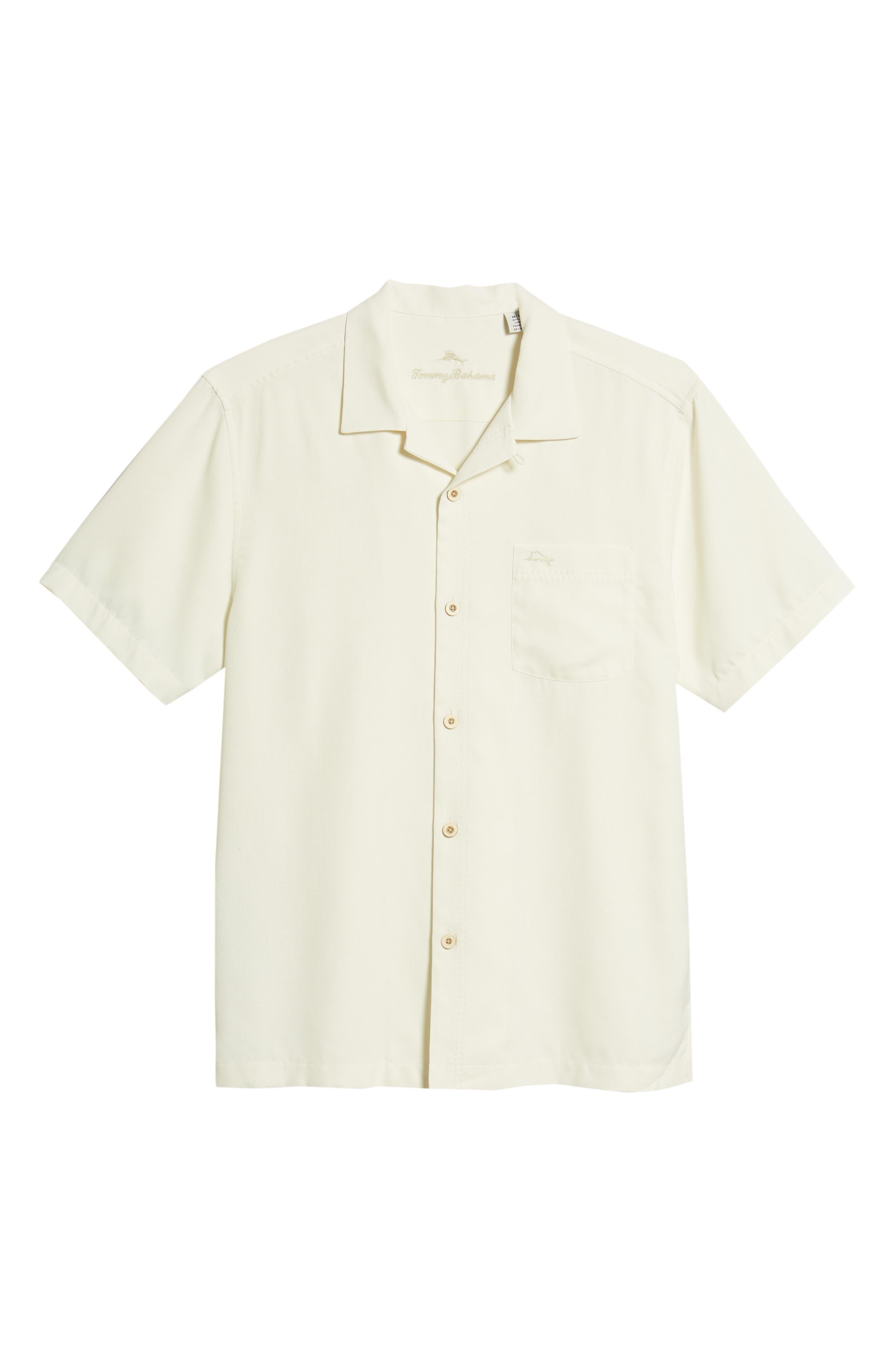 TOMMY BAHAMA,                             Royal Bermuda Silk Blend Camp Shirt,                             Alternate thumbnail 6, color,                             CONTINENTAL