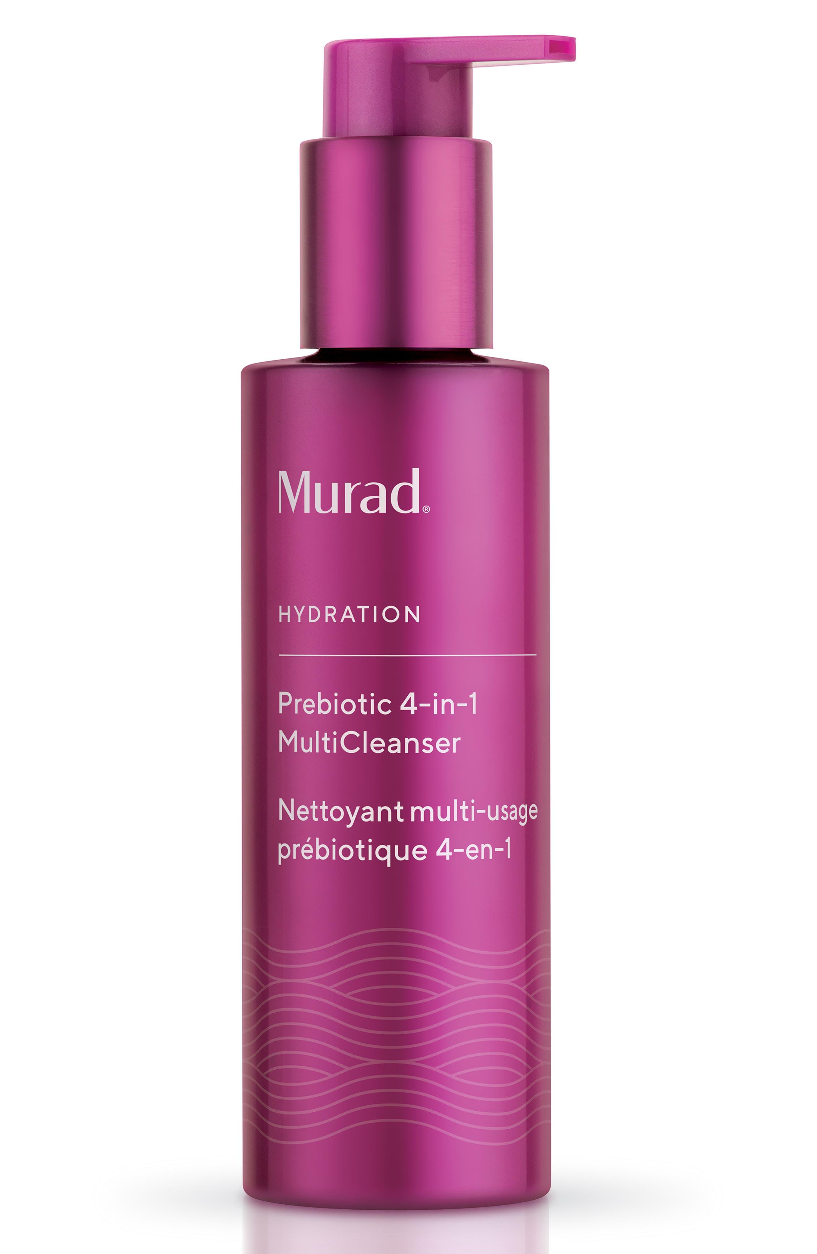 MURAD<SUP>®</SUP>,                             Prebiotic 4-in-1 MultiCleanser,                             Main thumbnail 1, color,                             000