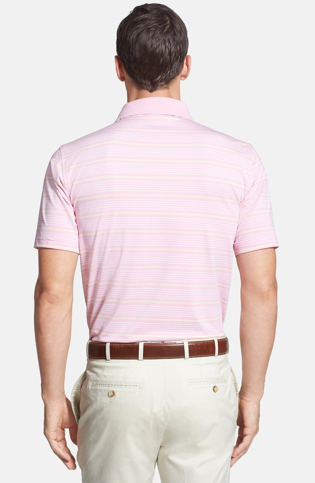 'Staley' Moisture Wicking Polo,                             Alternate thumbnail 6, color,