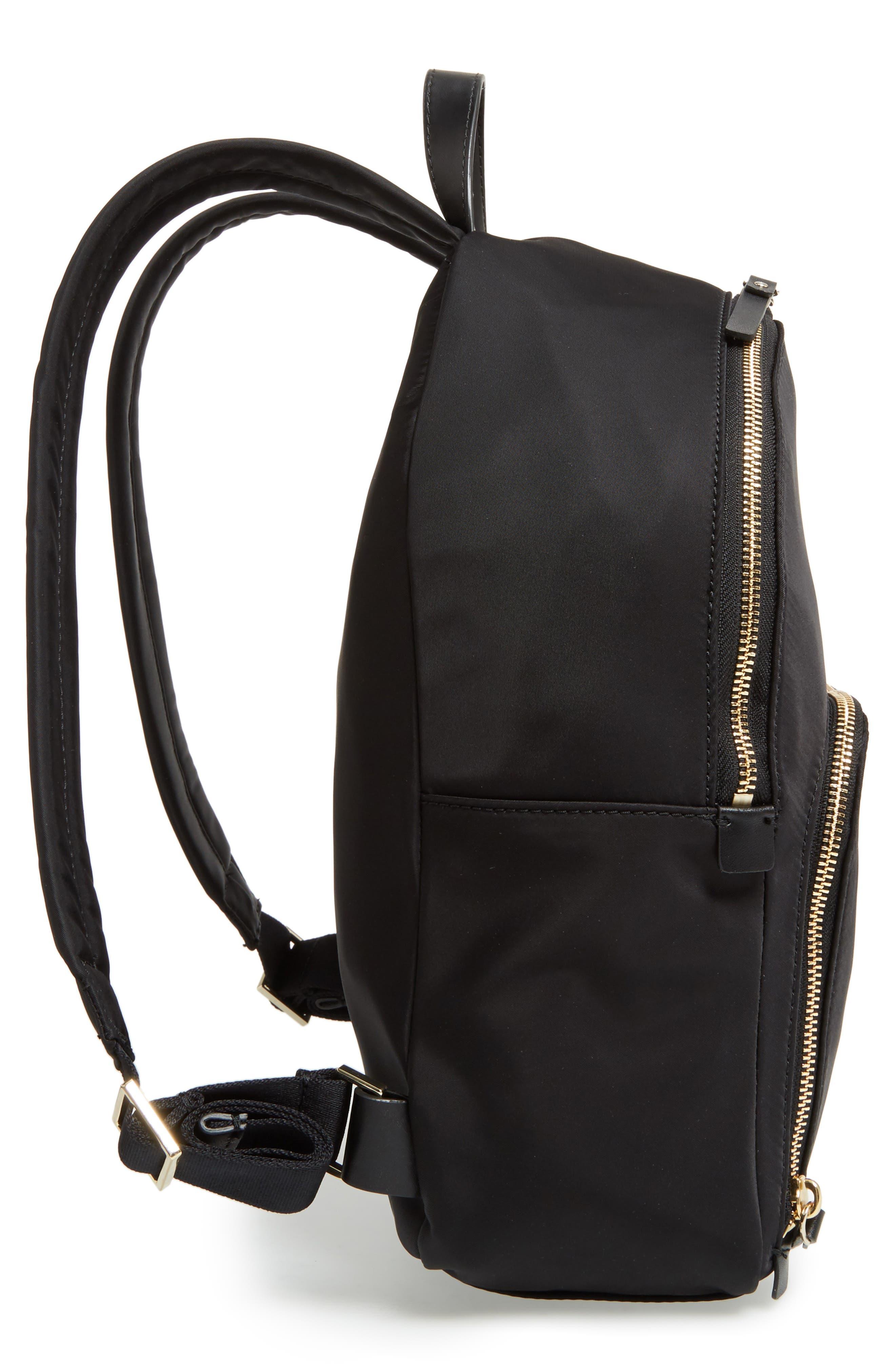 watson lane - hartley nylon backpack,                             Alternate thumbnail 5, color,                             BLACK