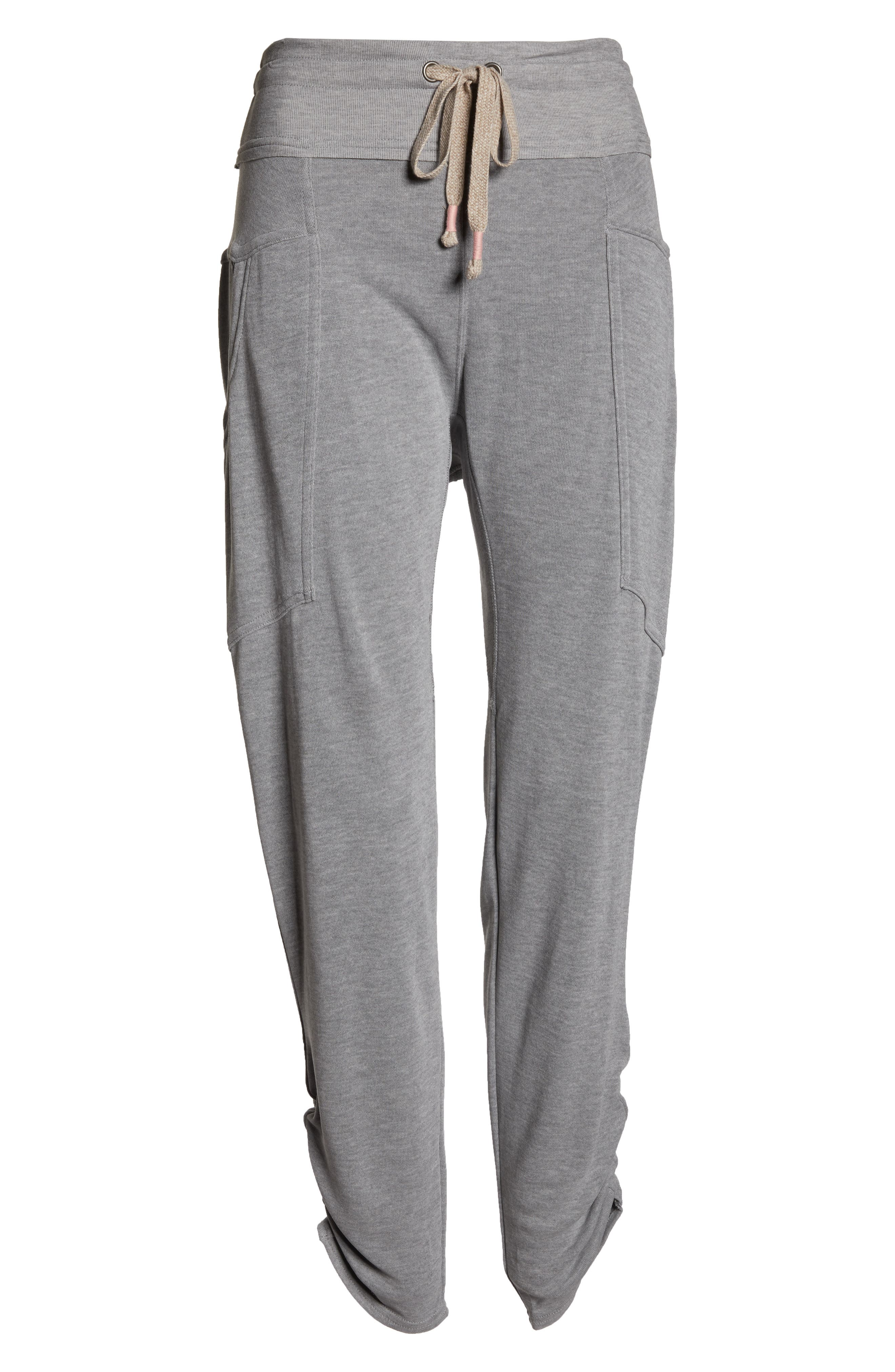 Free People FP Movement Ready Go Jogger Pants,                             Alternate thumbnail 6, color,                             GREY COMBO