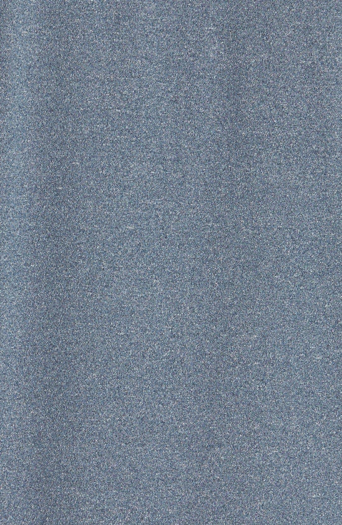 CUTTER & BUCK,                             'Topspin' DryTec Half Zip Pullover,                             Alternate thumbnail 2, color,                             NAVY HEATHER