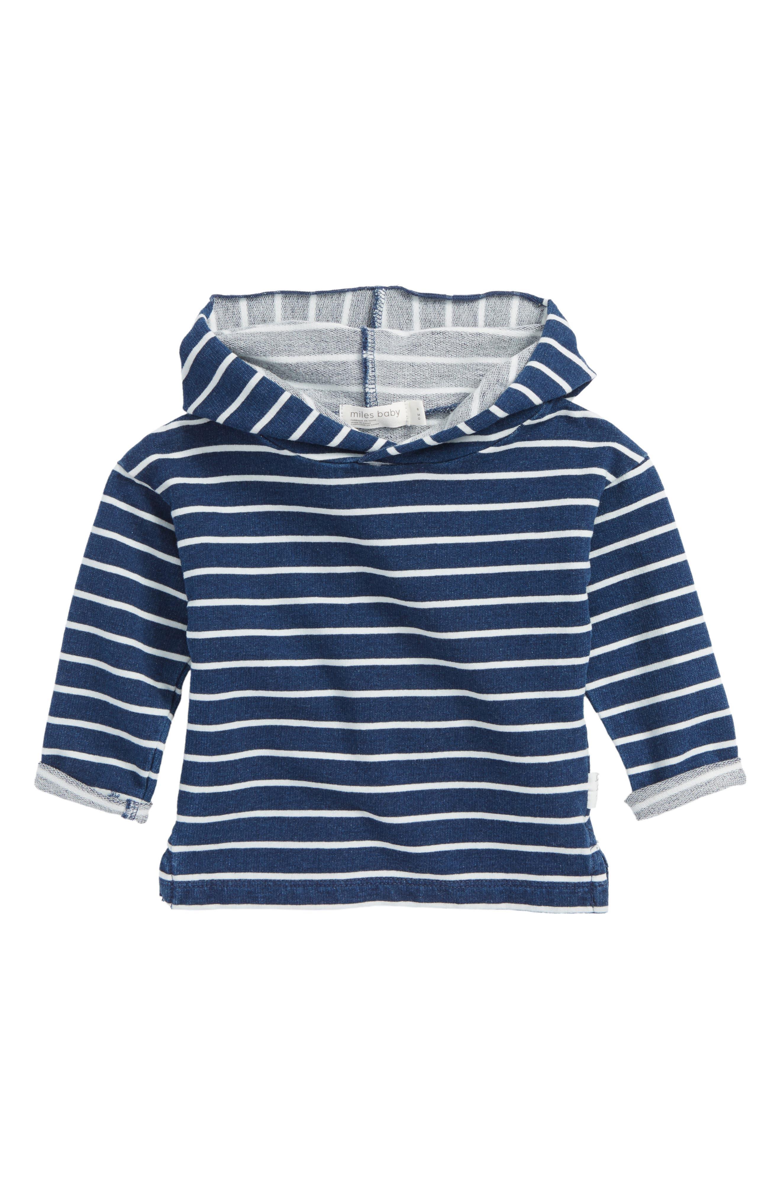 Stripe Hoodie,                         Main,                         color, 409
