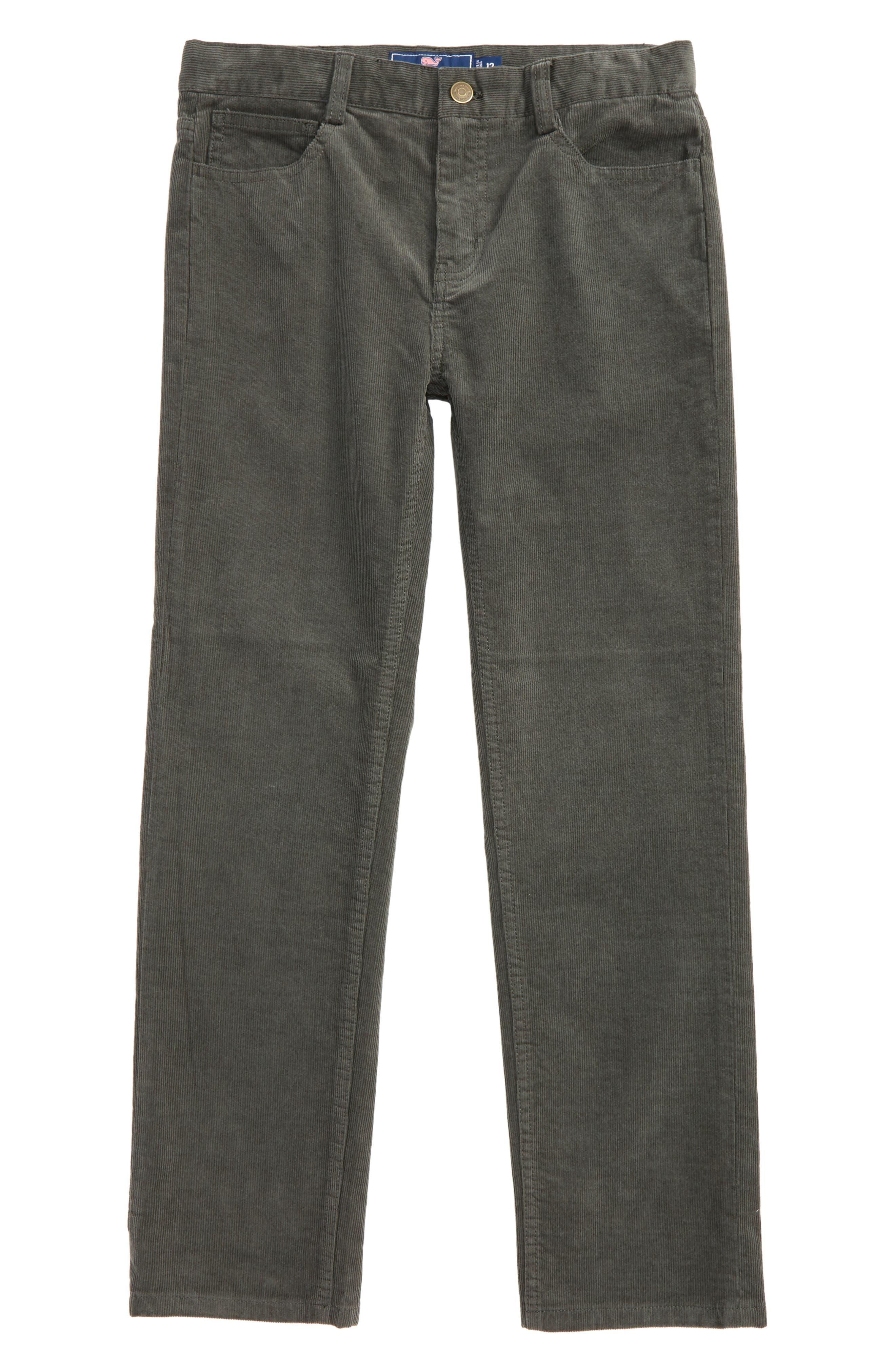 Straight Leg Corduroy Pants,                             Main thumbnail 1, color,