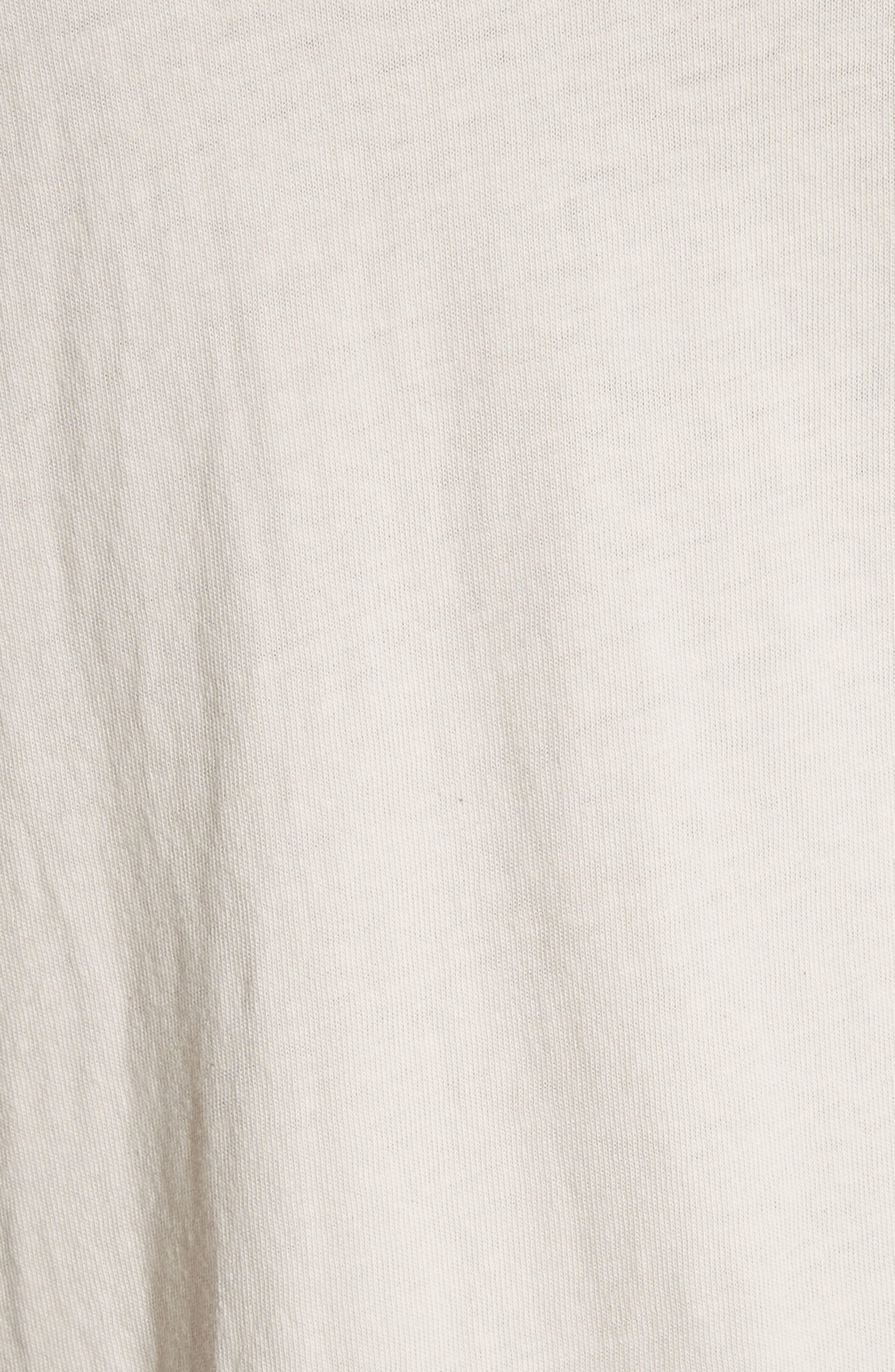 Rolling Stones T-Shirt,                             Alternate thumbnail 5, color,                             WHITE/ BLACK