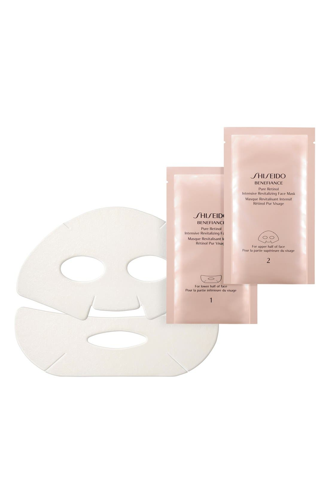 'Benefiance' Pure Retinol Intensive Revitalizing Face Mask,                             Main thumbnail 1, color,                             NO COLOR