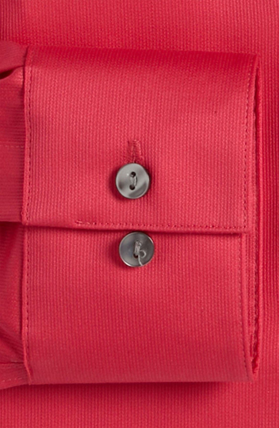 Slim Fit Non-Iron Dress Shirt,                             Alternate thumbnail 12, color,