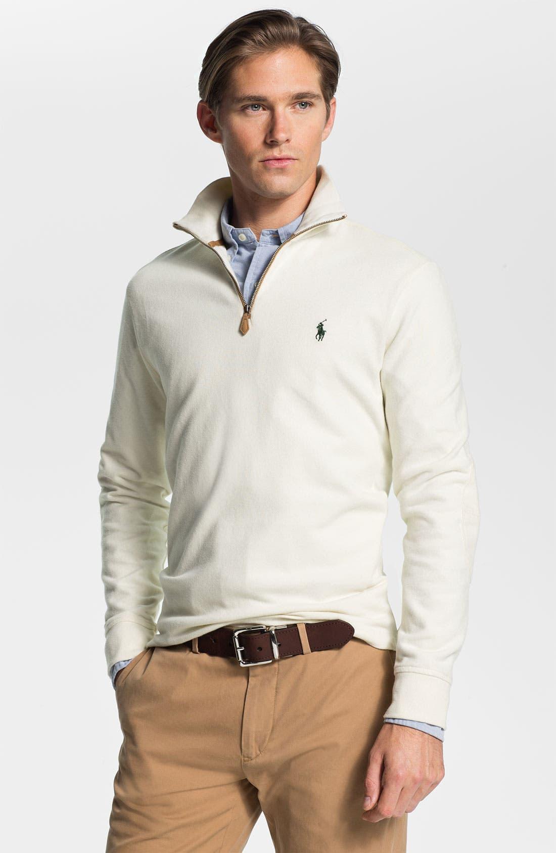 Half Zip Pullover, Main, color, 101