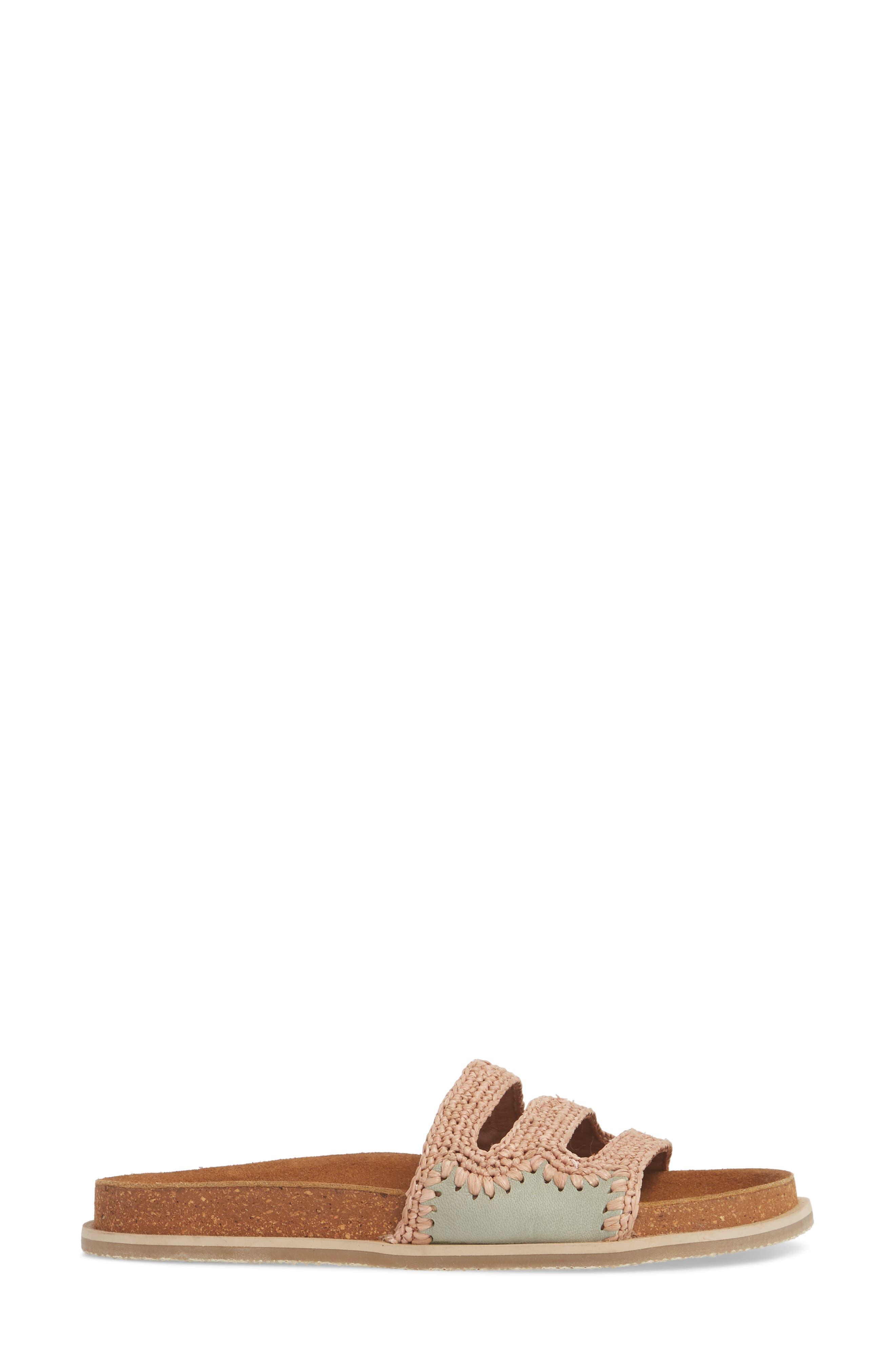 Crete Slide Sandal,                             Alternate thumbnail 6, color,