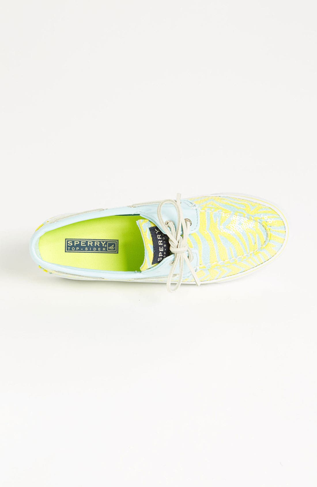 Top-Sider<sup>®</sup> 'Bahama' Sequined Boat Shoe,                             Alternate thumbnail 74, color,