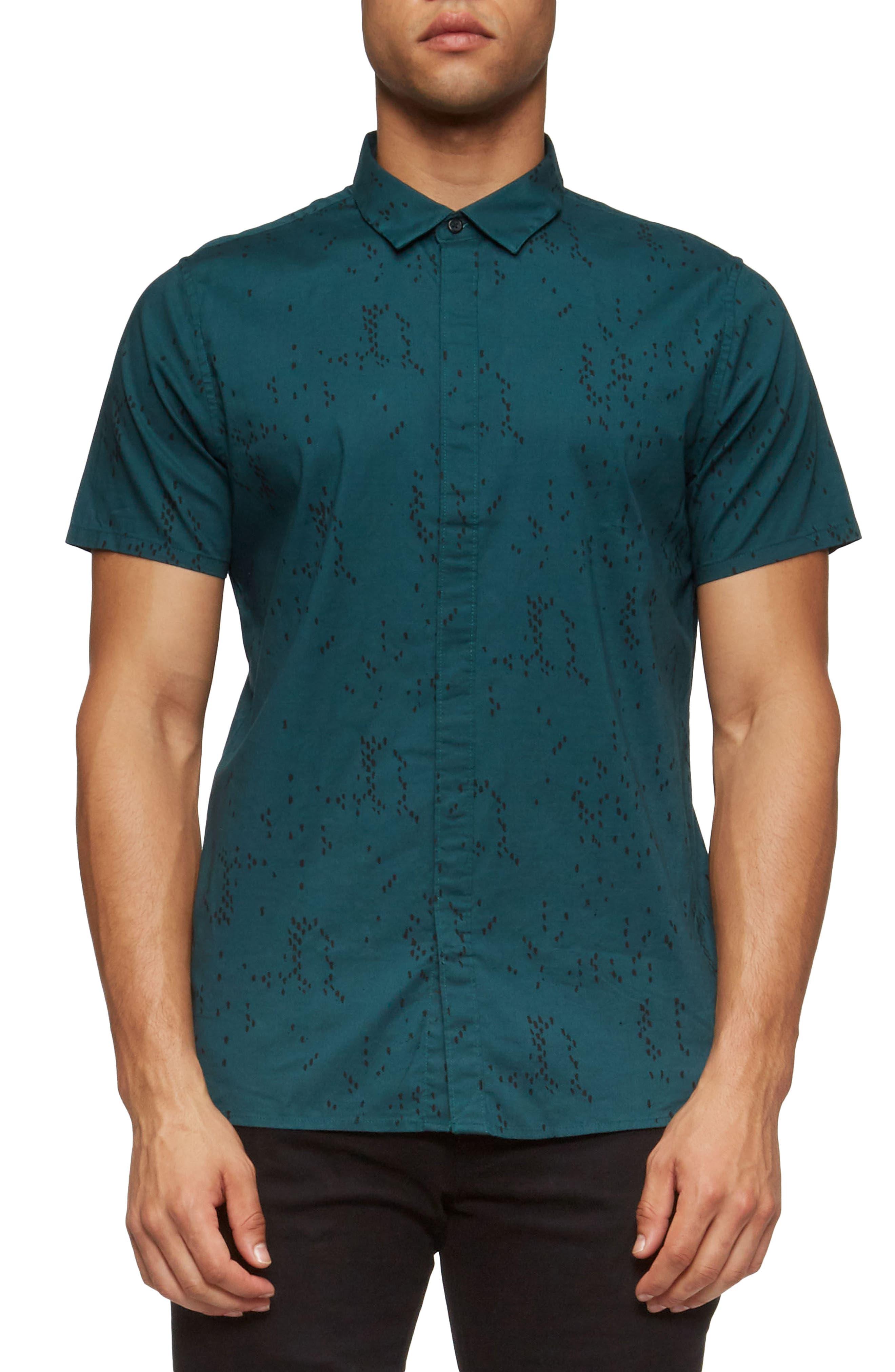 Bowery Short Sleeve Shirt,                             Main thumbnail 2, color,