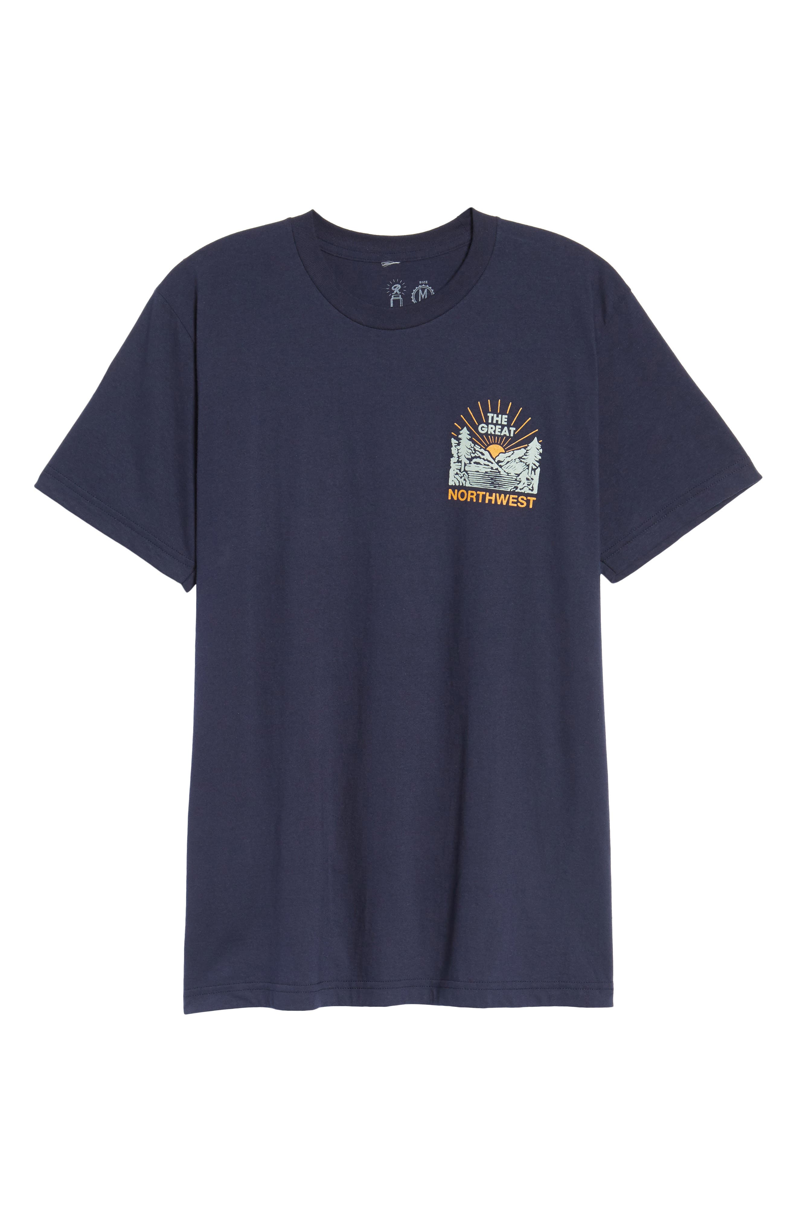 Squatch Valley 2 Graphic T-Shirt,                             Alternate thumbnail 12, color,