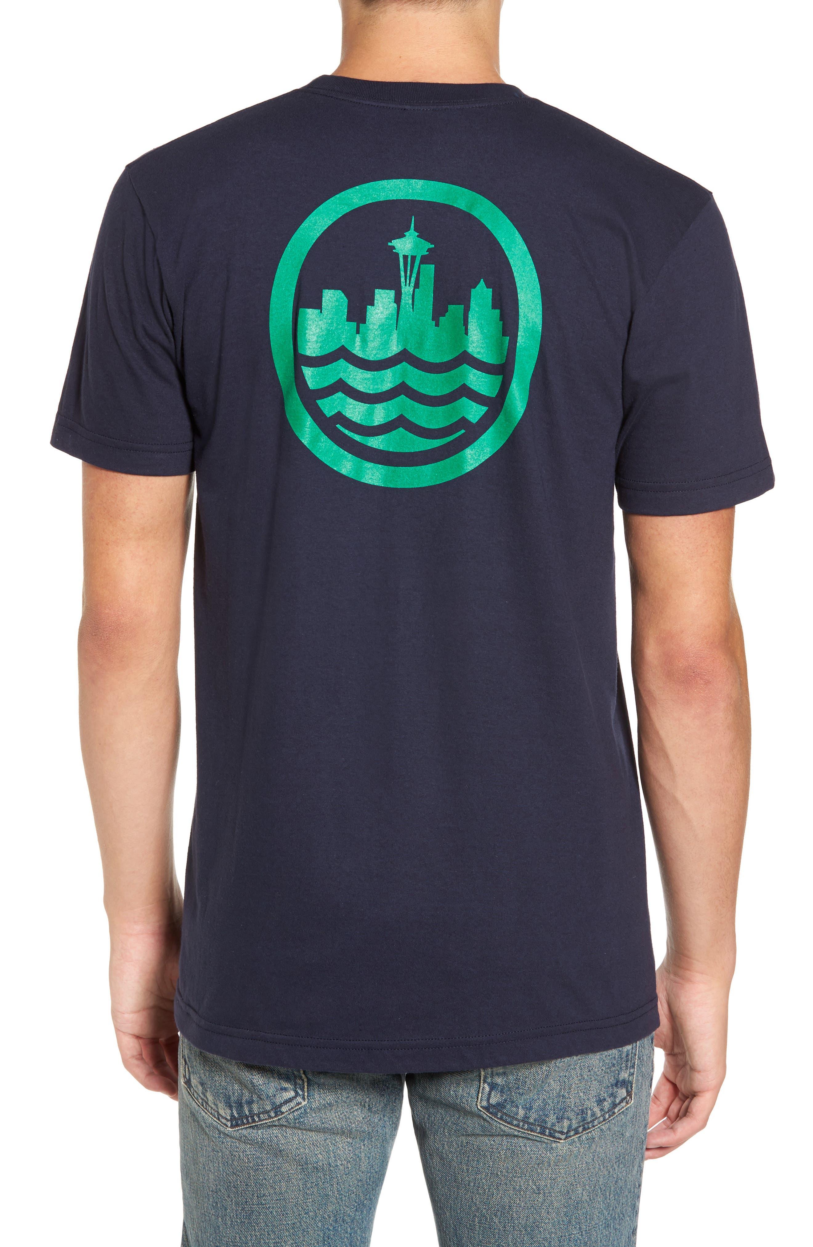 Sea Graphic T-Shirt,                             Alternate thumbnail 4, color,