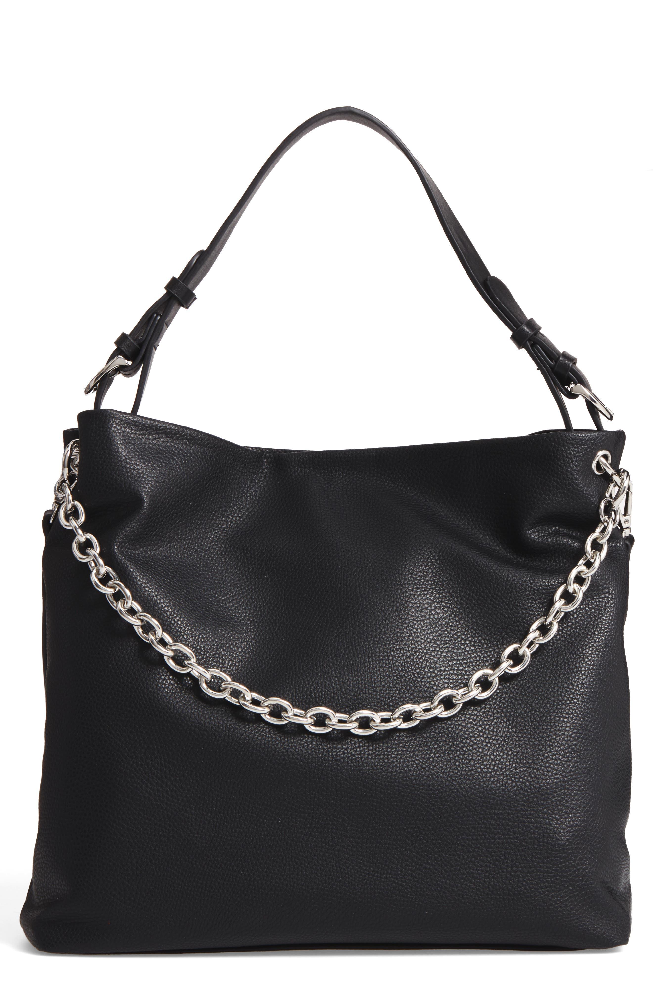 Taylor Faux Leather Shoulder Bag,                             Main thumbnail 1, color,