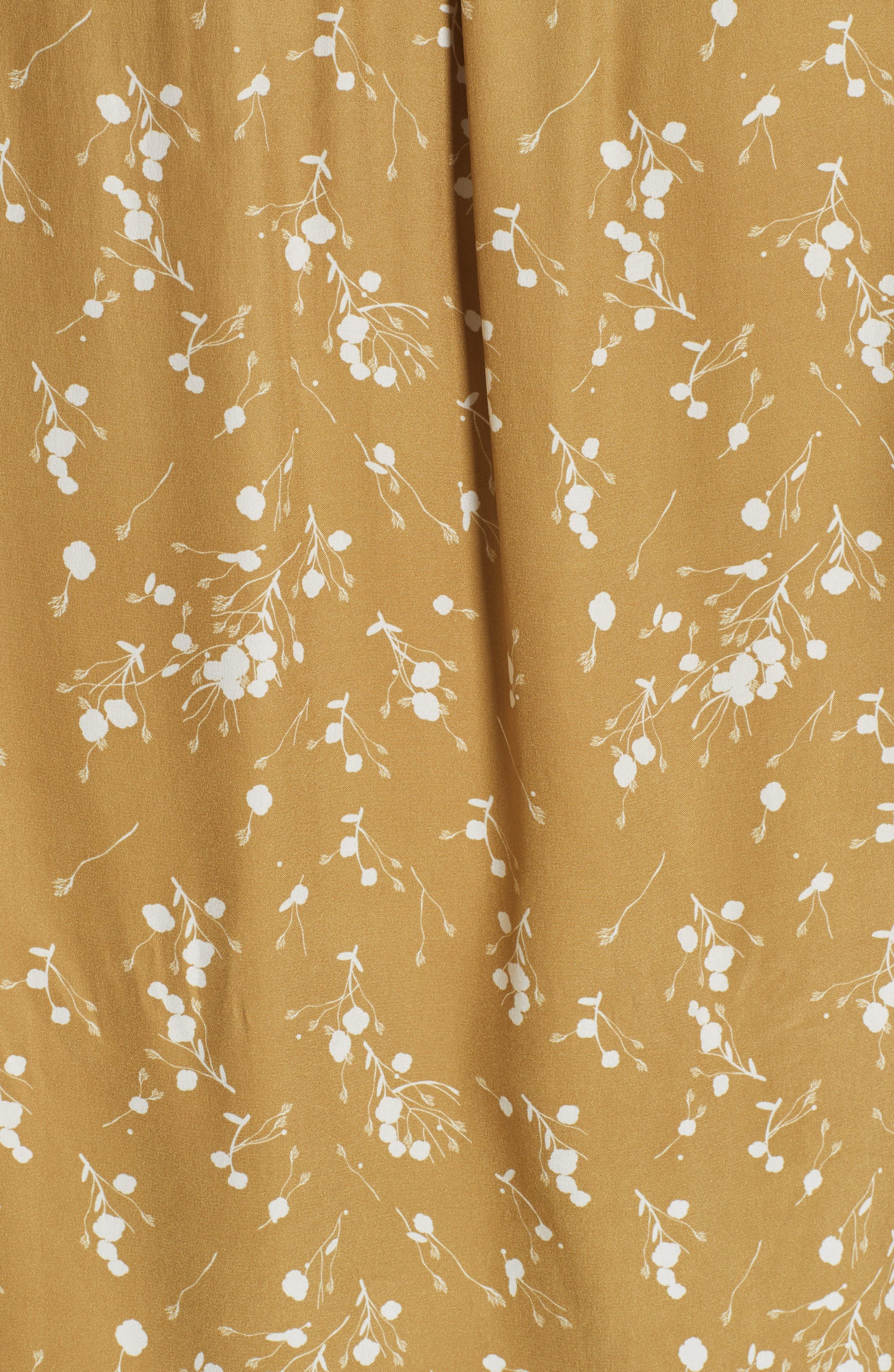 Split Neck Tassel Tie Silk Blouse,                             Alternate thumbnail 5, color,                             700