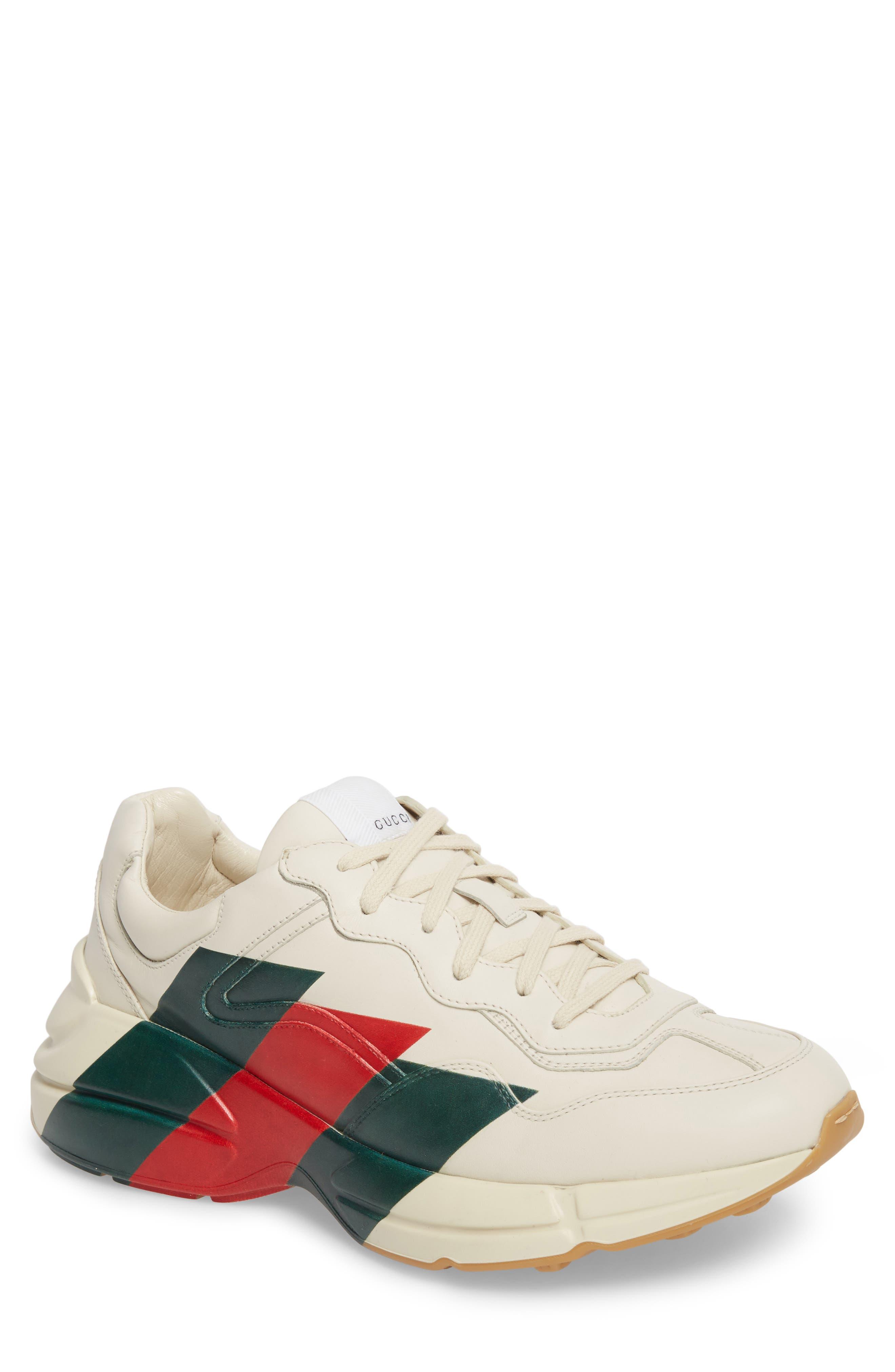 Rhyton Sneaker,                             Main thumbnail 1, color,                             MYSTIC WHITE