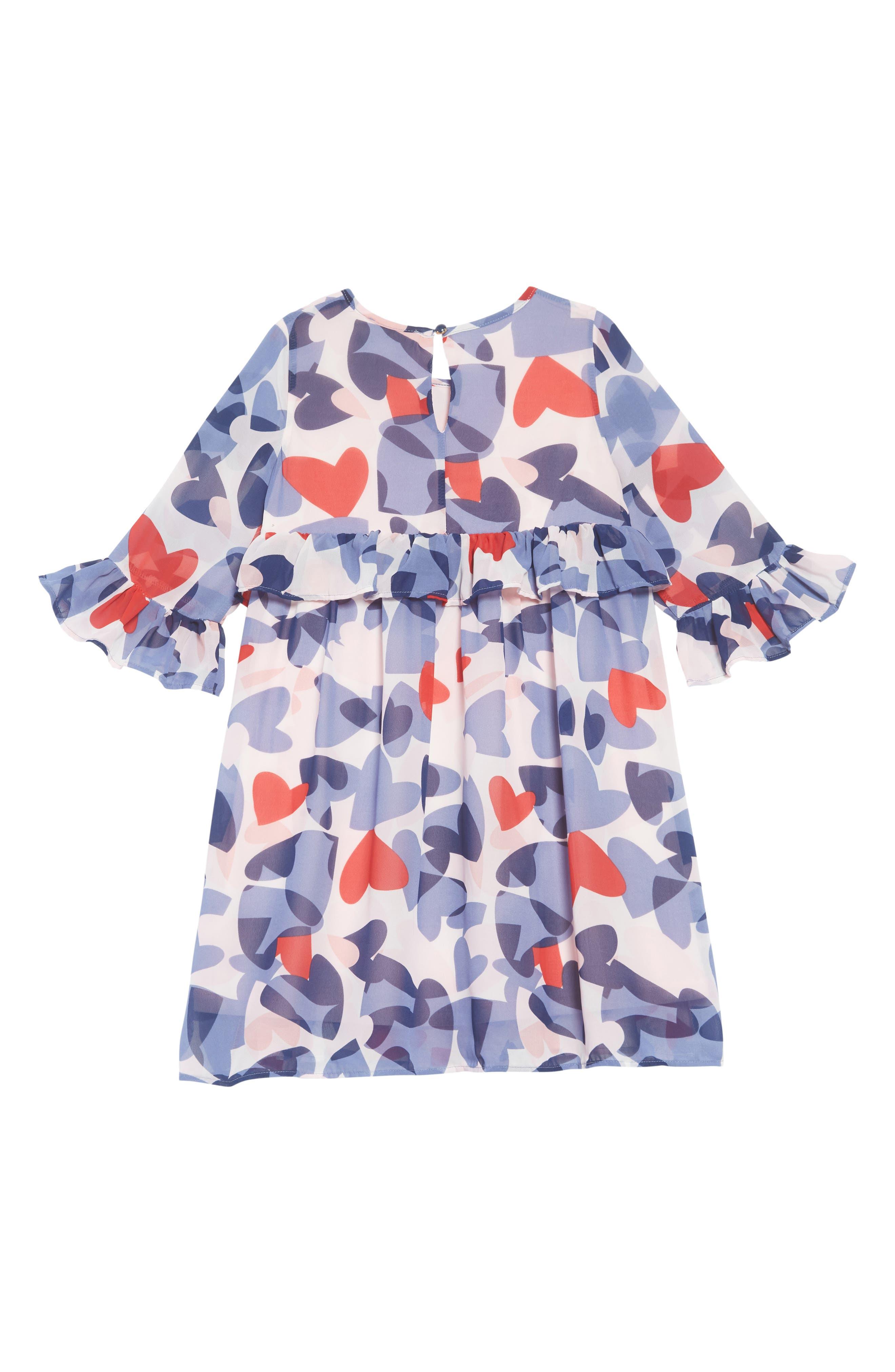 confetti hearts dress,                             Alternate thumbnail 2, color,                             CONFETTI HEARTS