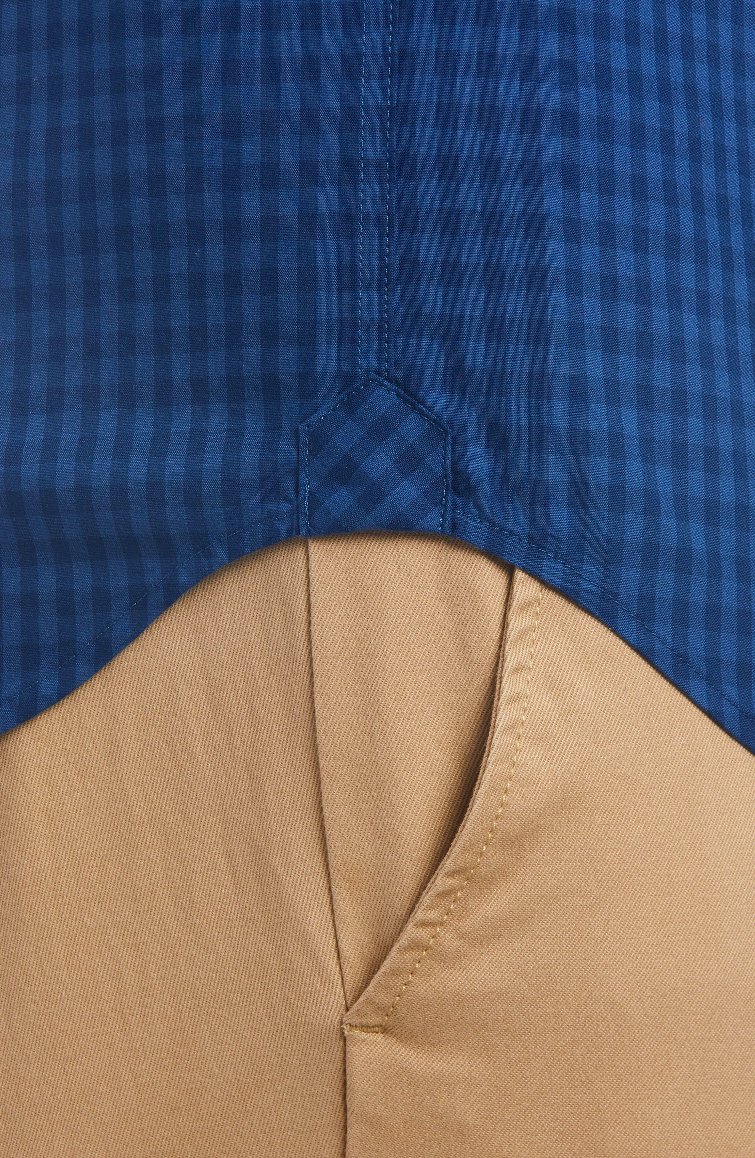 Regular Fit Check Short Sleeve Sport Shirt,                             Alternate thumbnail 2, color,                             400