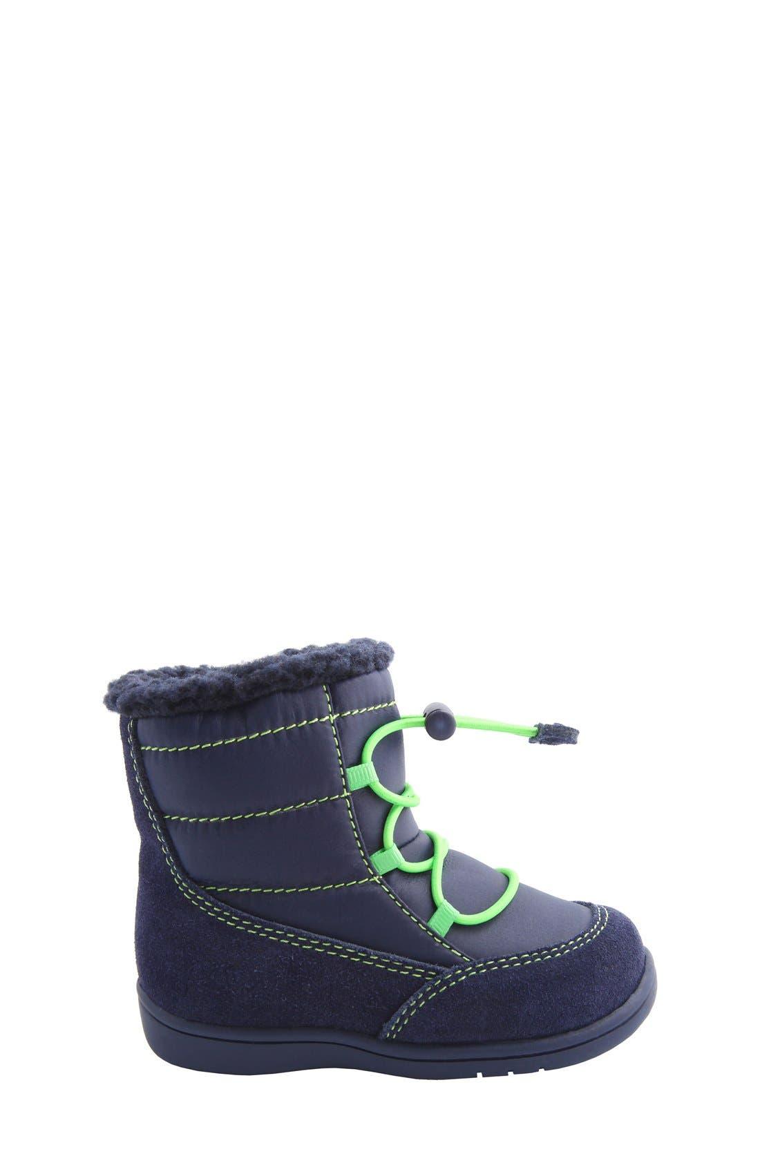 Nina 'Yolie' Lace-Up Boot,                             Alternate thumbnail 18, color,