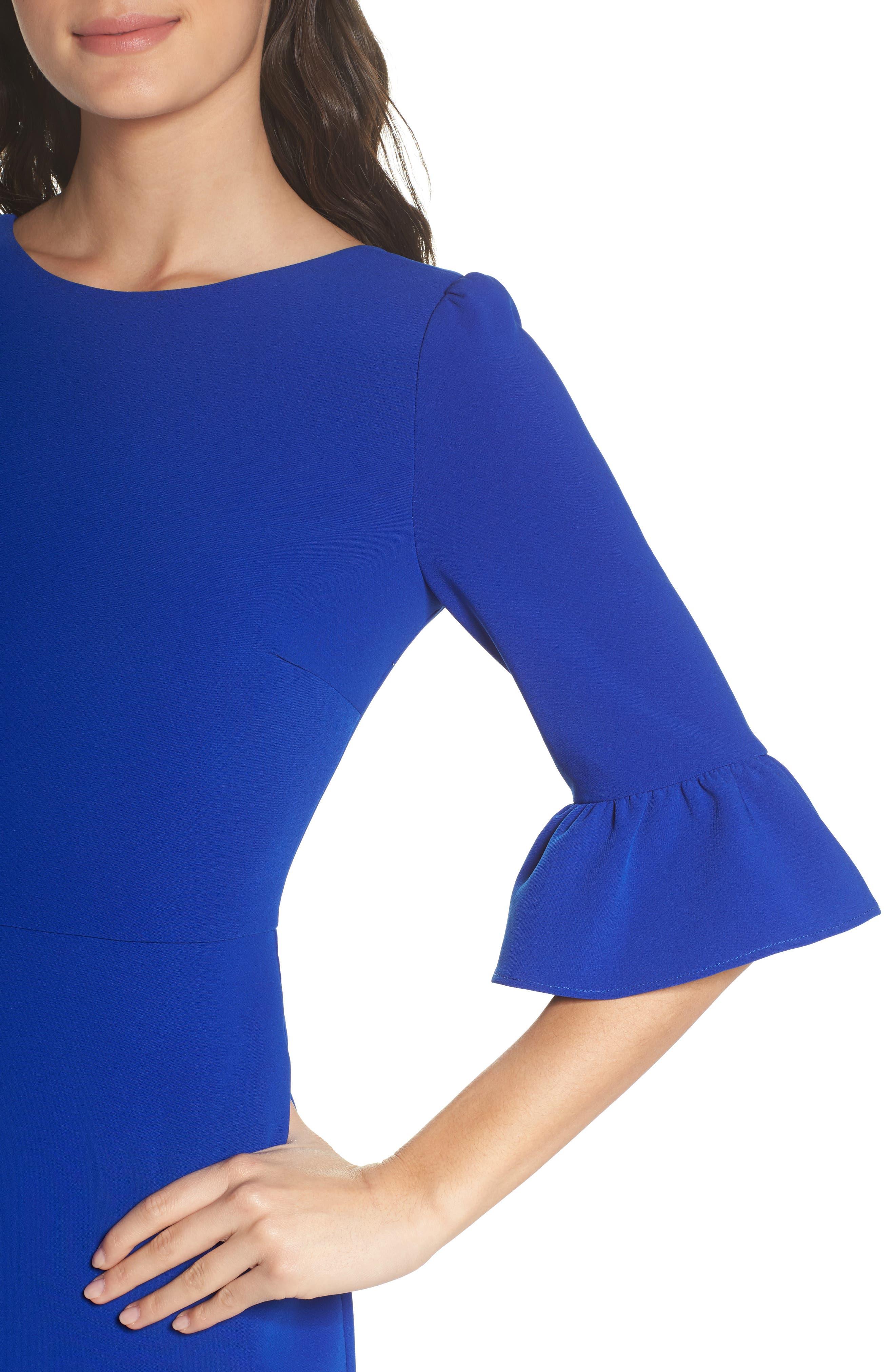 Blair Sheath Dress,                             Alternate thumbnail 4, color,                             400
