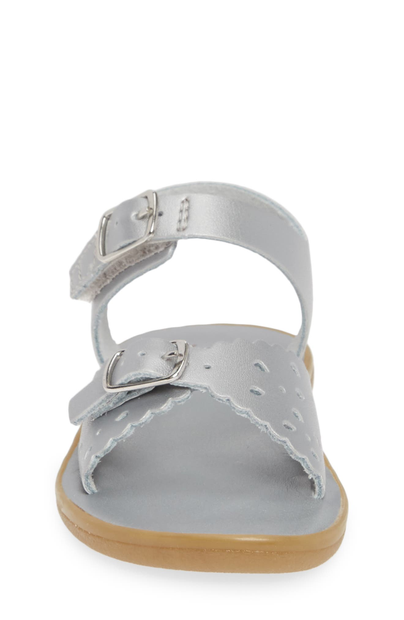 Ariel Waterproof Sandal,                             Alternate thumbnail 4, color,                             SILVER