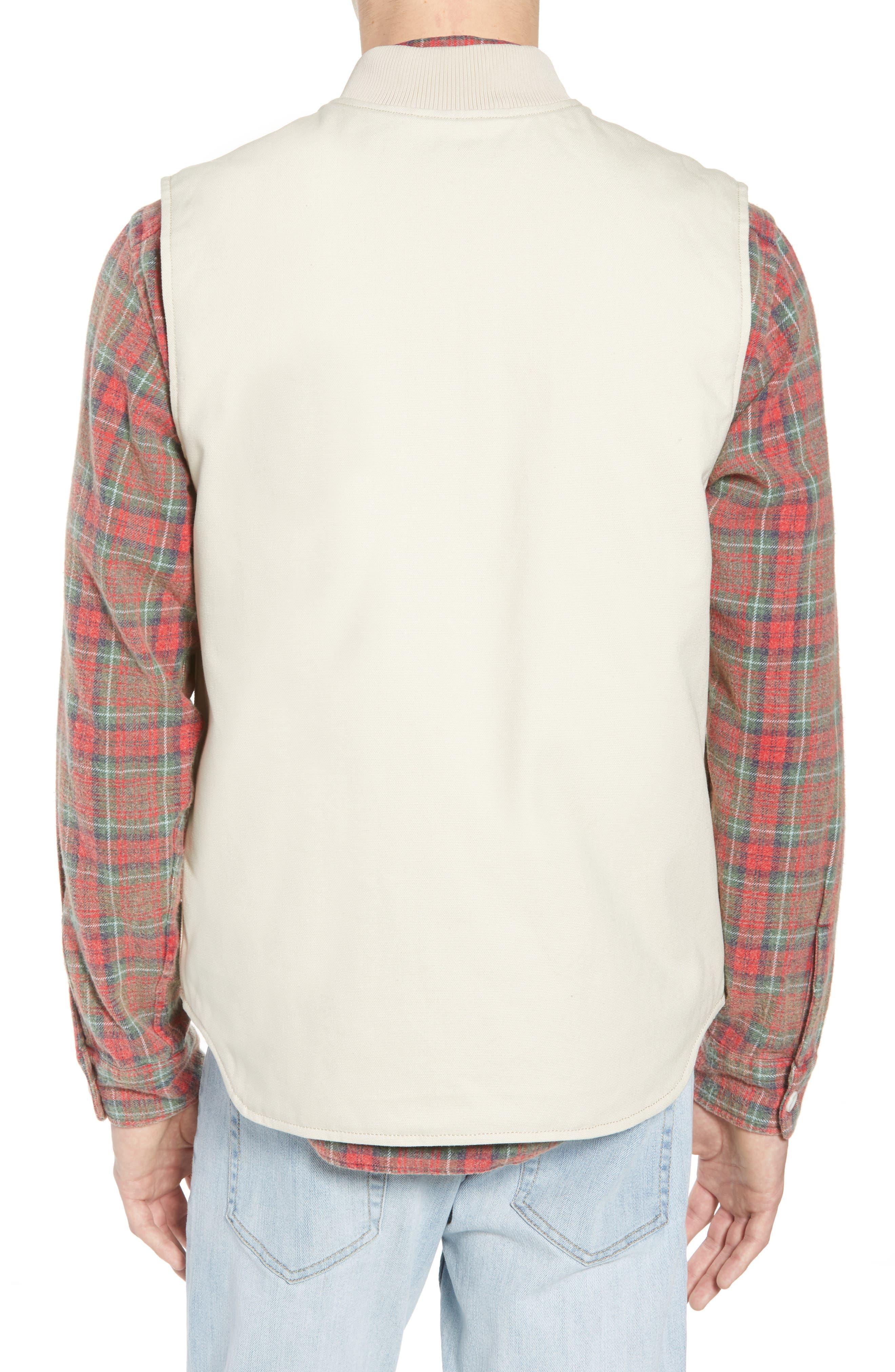 Canvas Vest,                             Alternate thumbnail 2, color,                             250