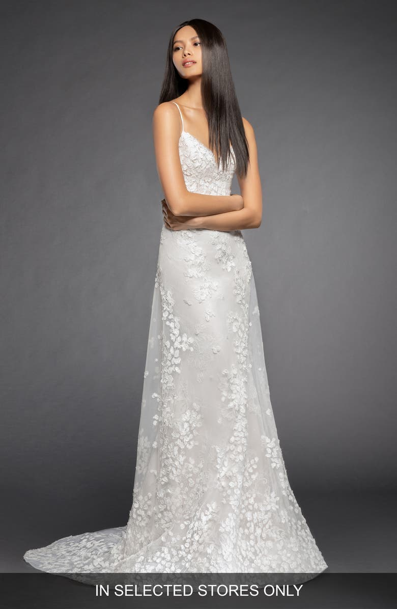 Lazaro Milena Lace   Tulle A-Line Gown  a4a7492f7