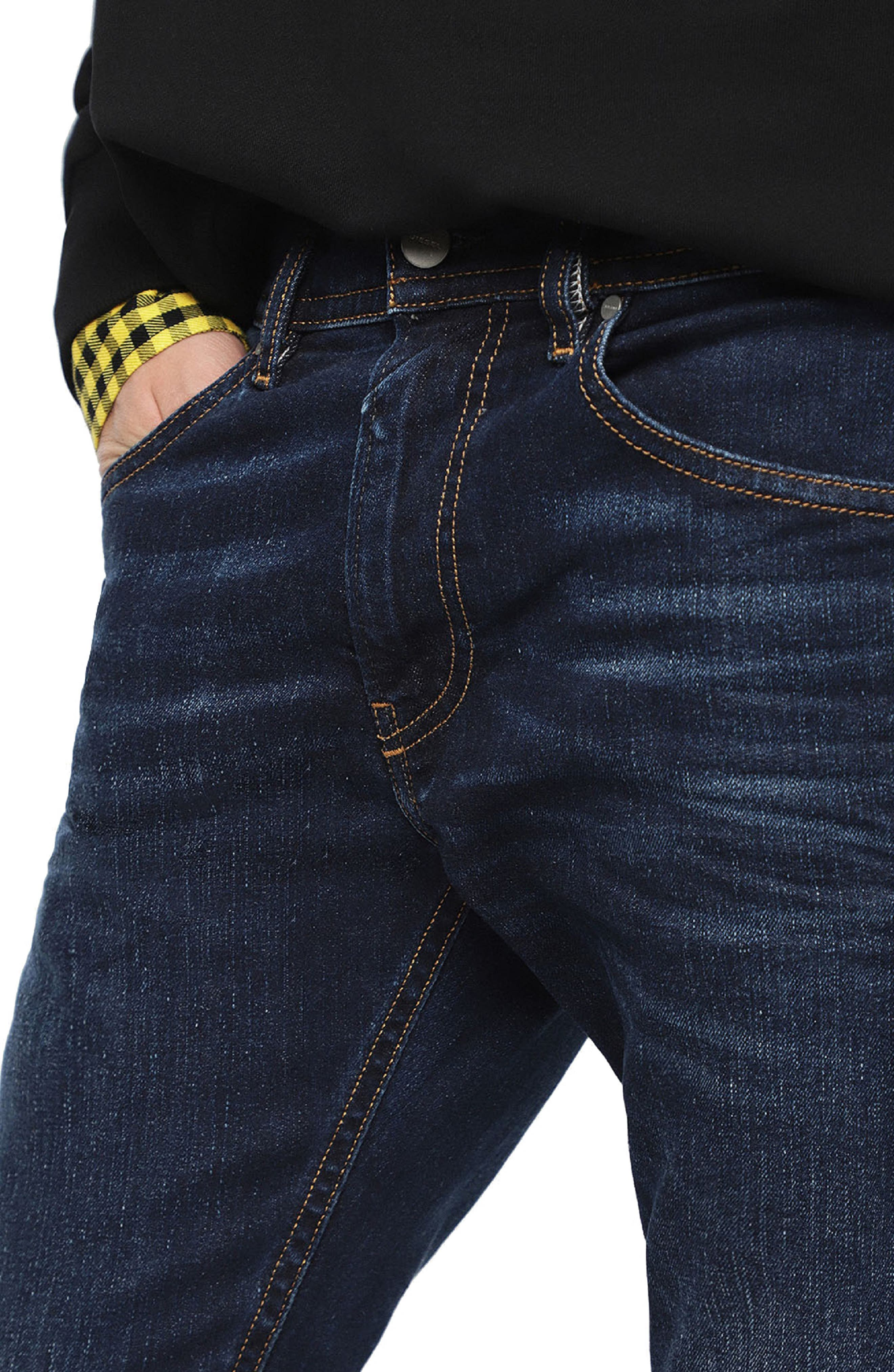 DIESEL<SUP>®</SUP>,                             Thommer Slim Fit Jeans,                             Alternate thumbnail 5, color,                             084VG